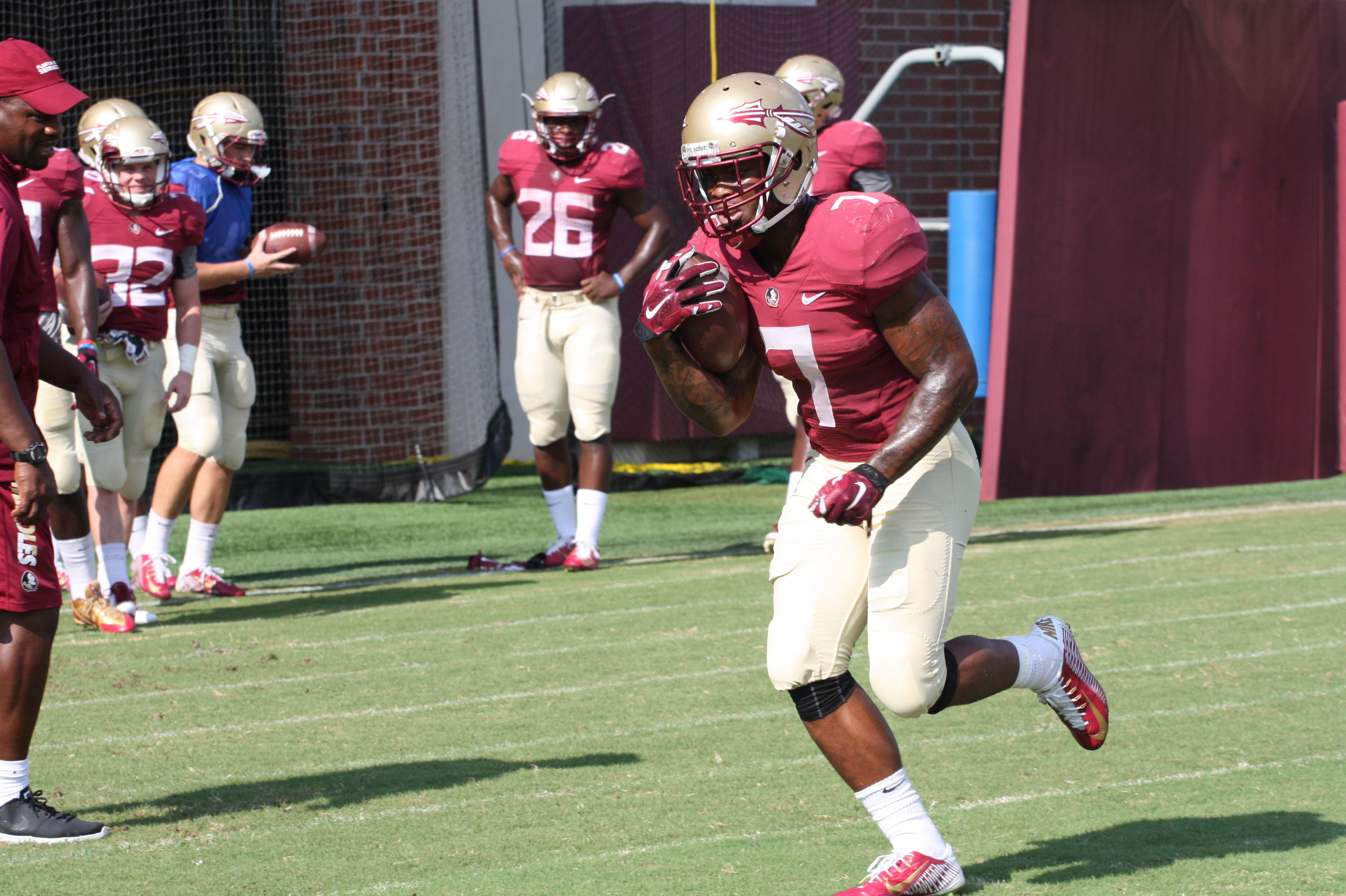 Florida State Football Practice – Wednesday August 12