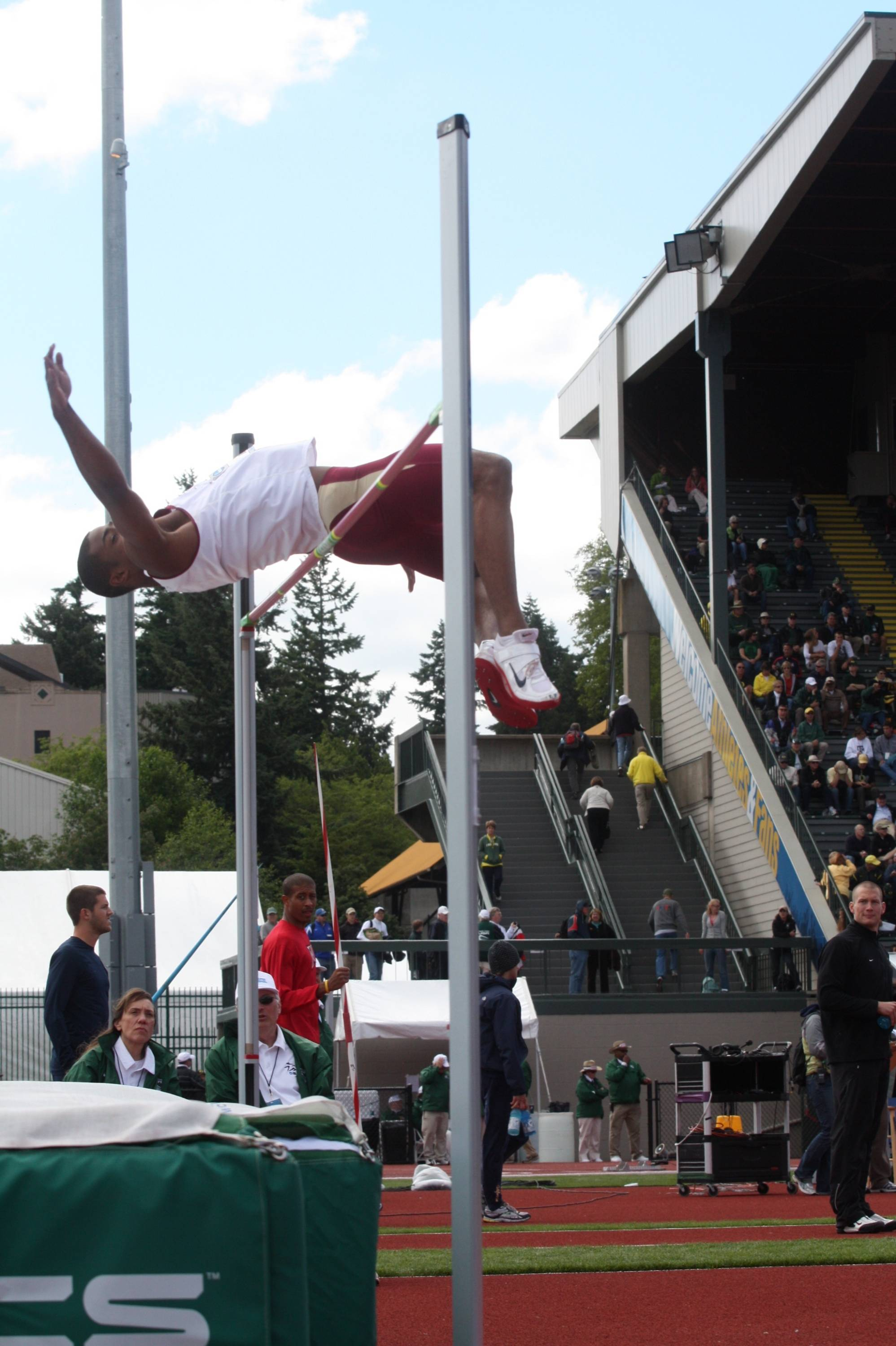 The third day of the NCAA Outdoor Championships.