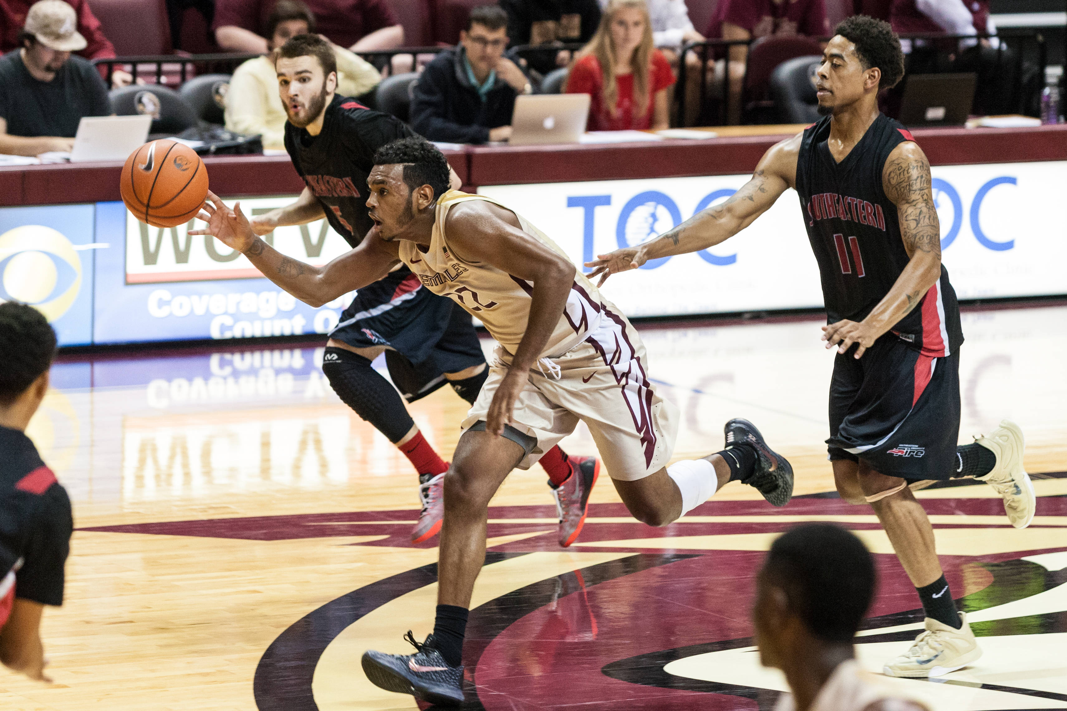 Men's Basketball vs. Southeastern, Nov. 9, 2015