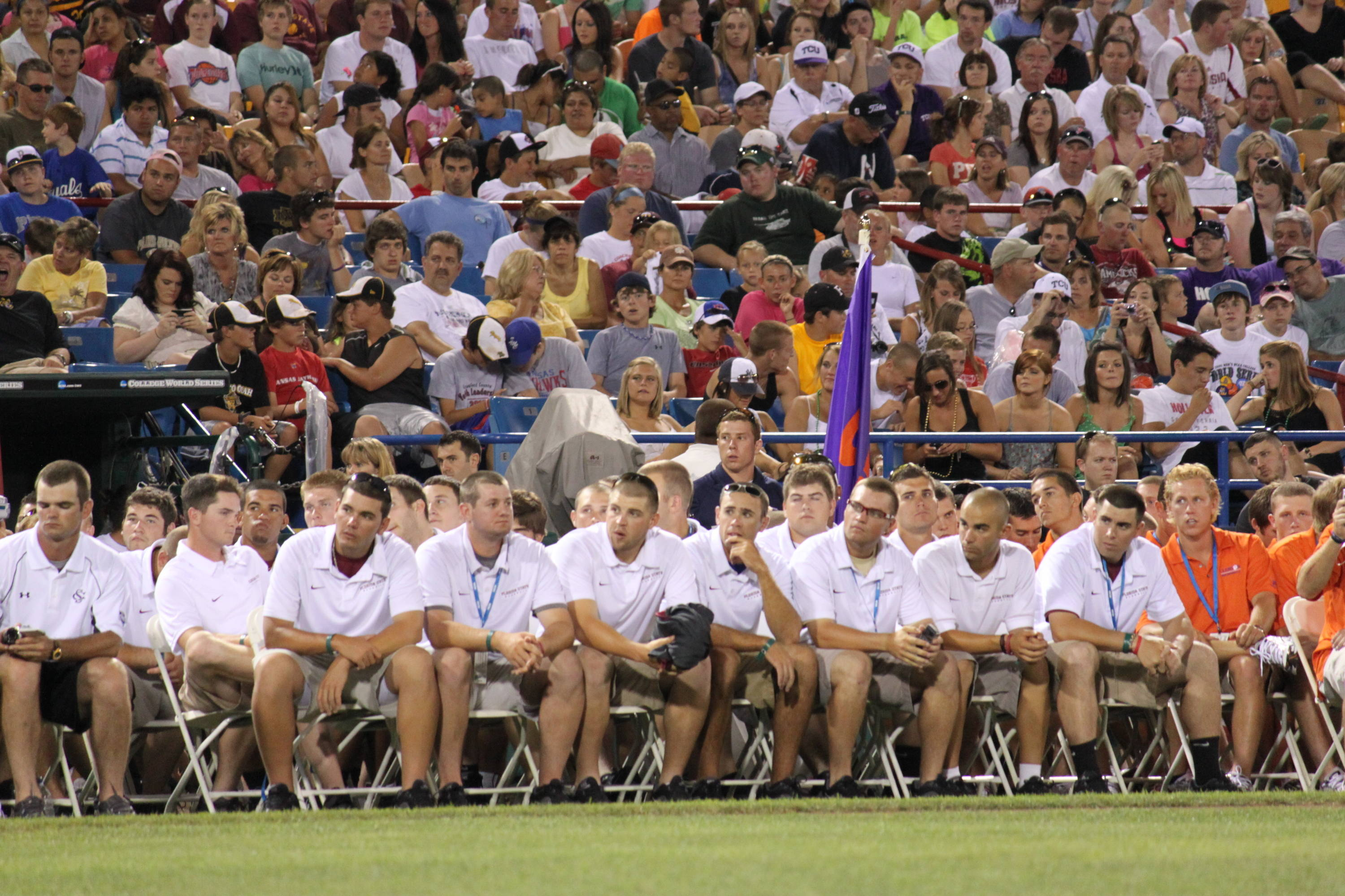2010 CWS College Baseball Opening Ceremony