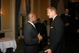 2006 Inductees Emmitt Smith and Chad Hennings