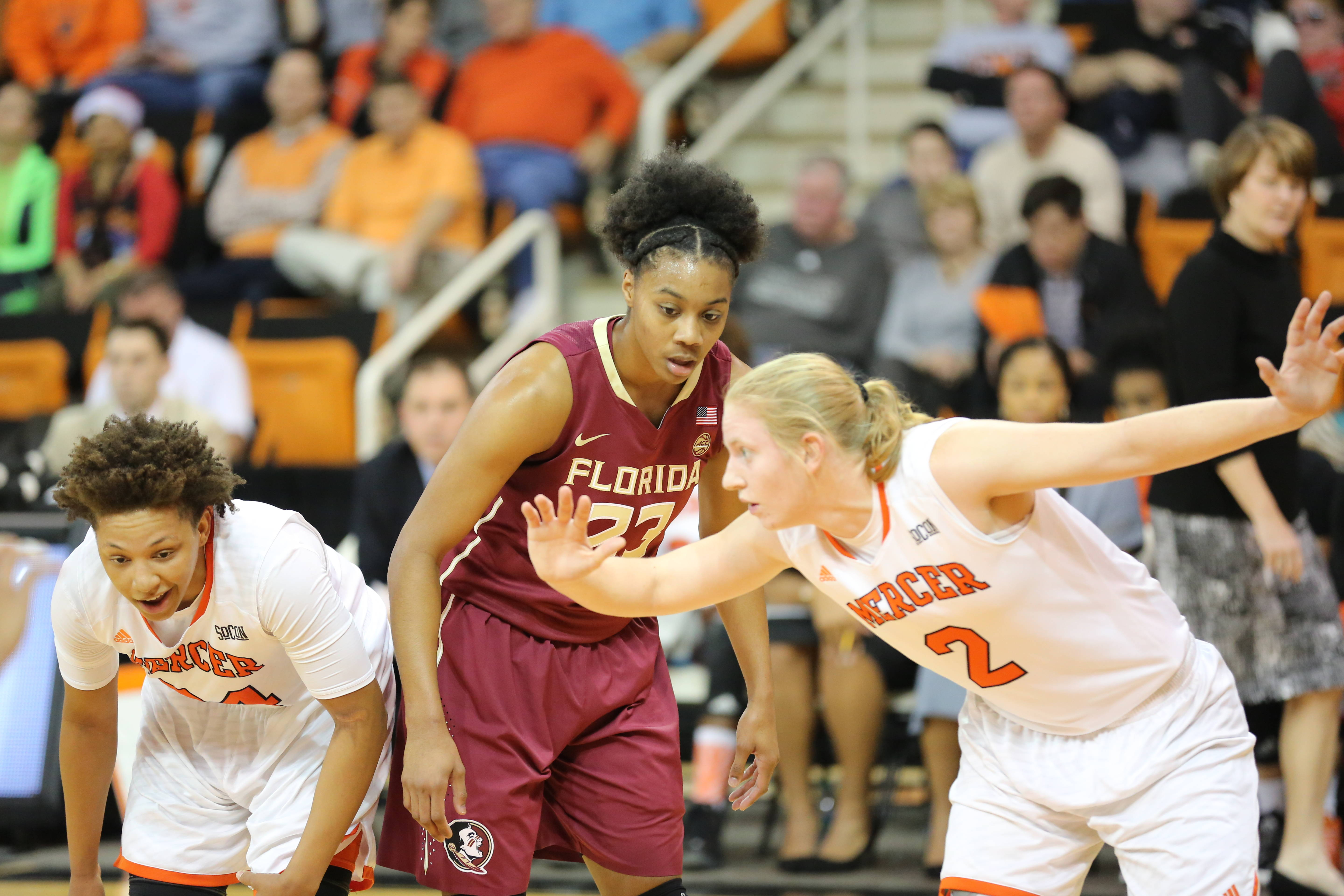 On Dec. 21, senior forward and Macon, Ga., native Ivey Slaughter received quite the homecoming when FSU traveled to play Mercer.