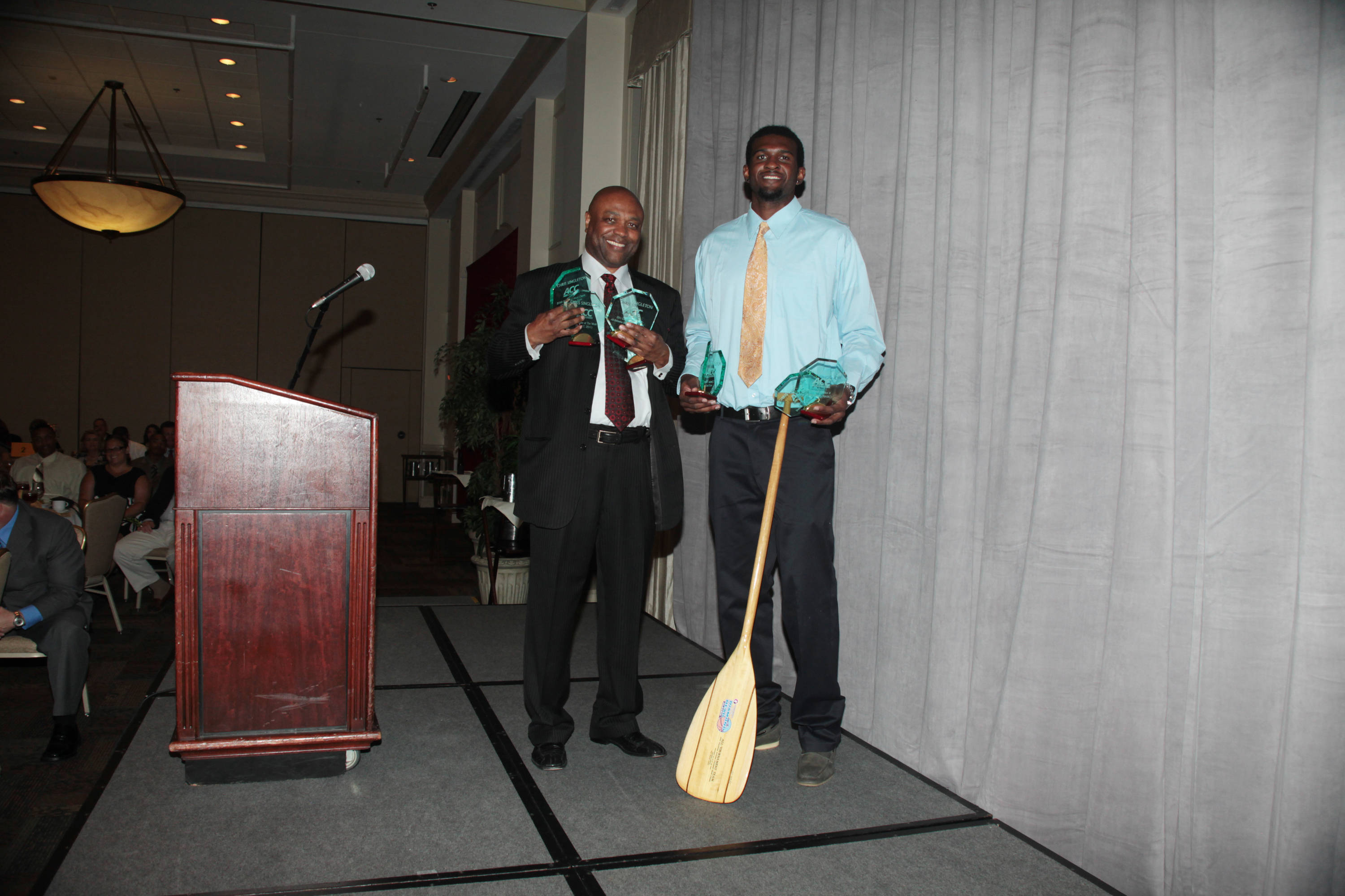 2011 Men's Basketball Banquet - Chris Singleton