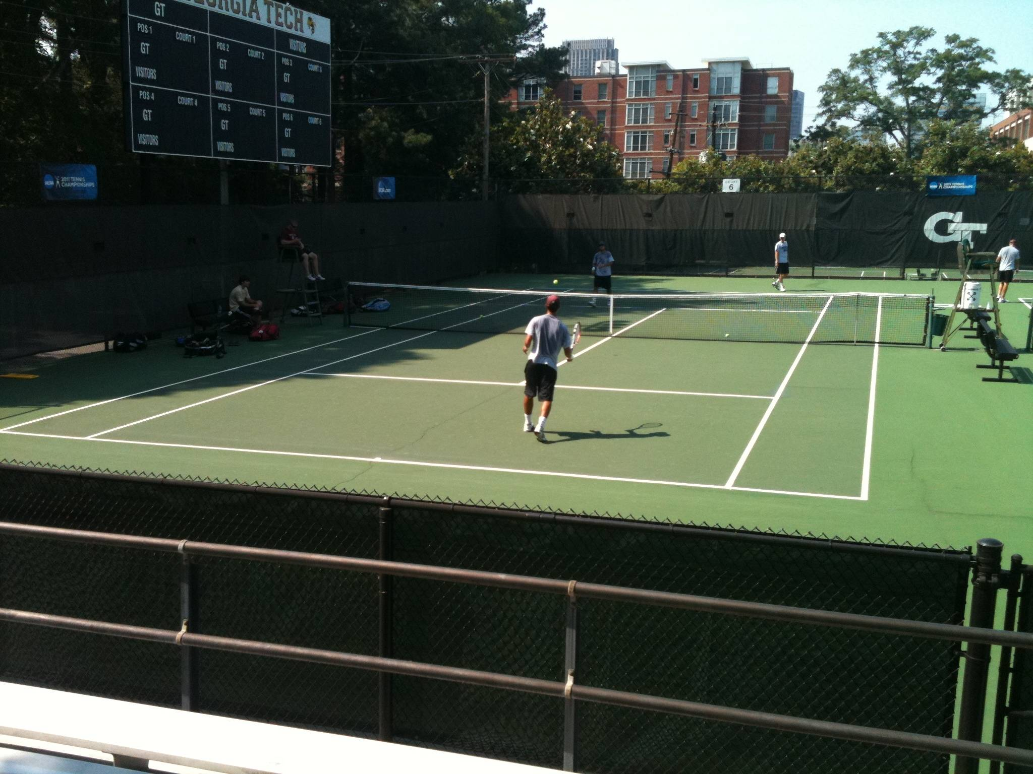 Men's Tennis 2011 NCAA