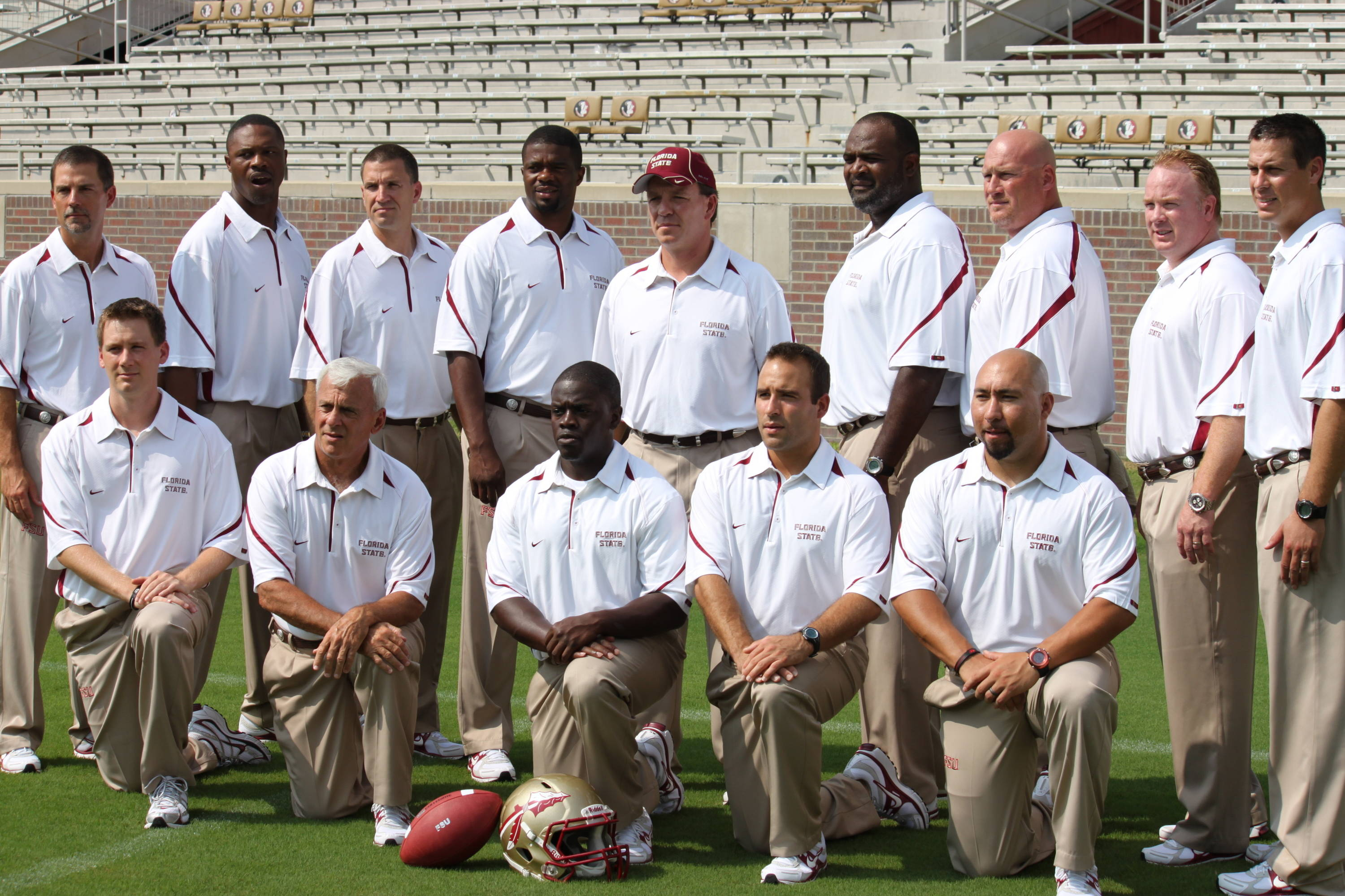 The Florida State coaching staff.