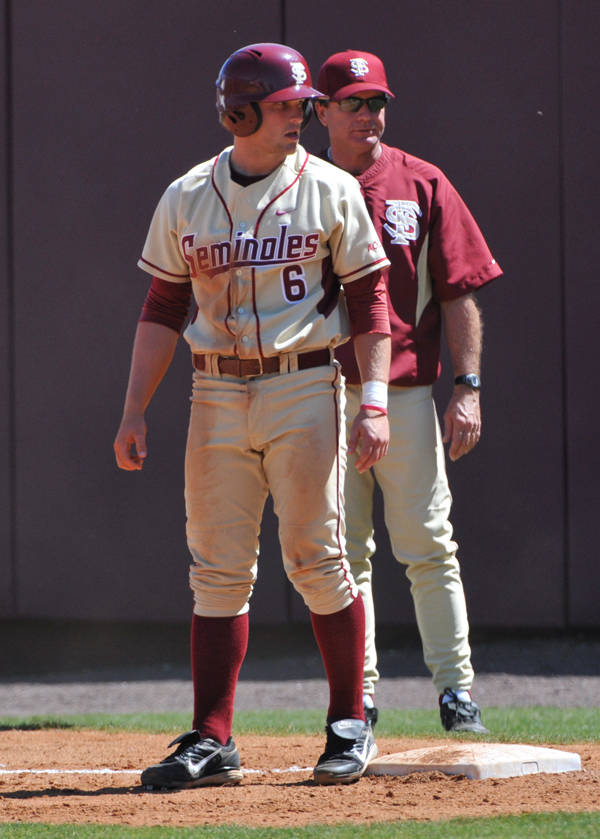 Tommy Oravetz and assistant coach Mike Martin, Jr.