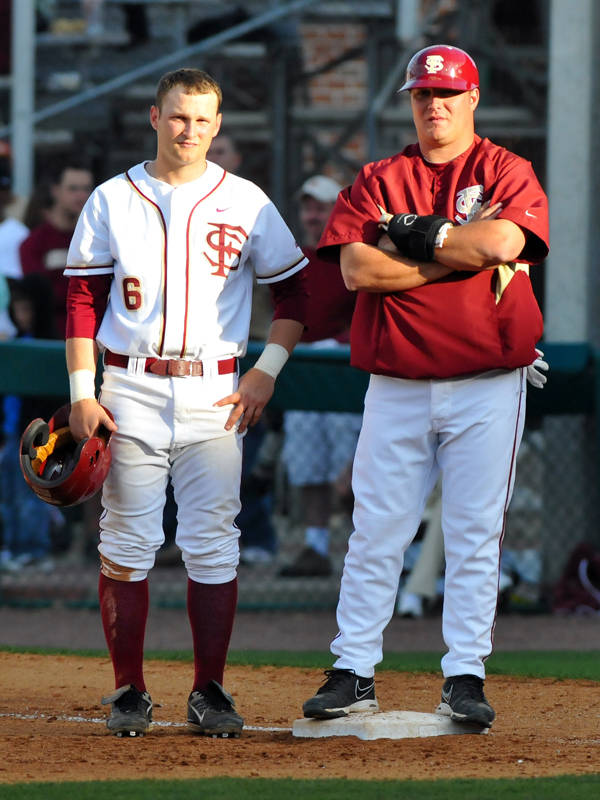 Tommy Oravetz and Coach Brian Hoop