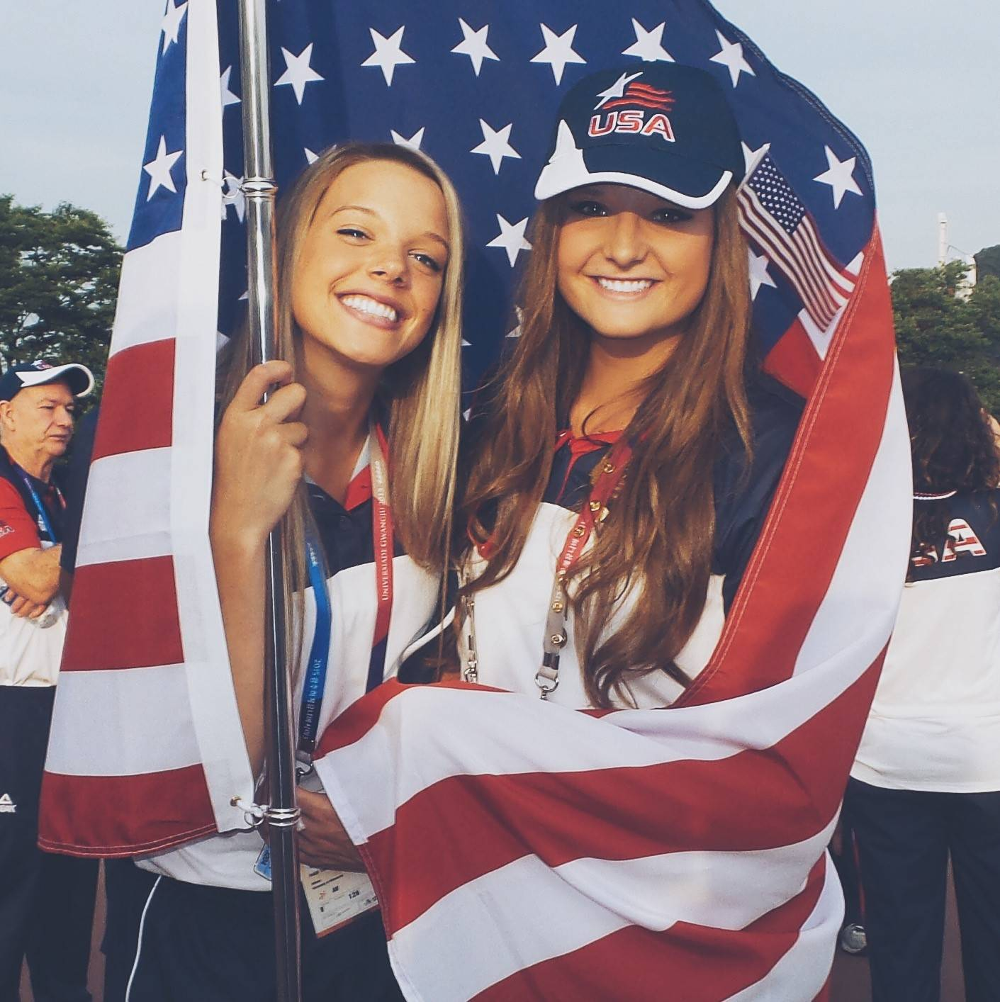 Nicole Walch and Paige Tapp.