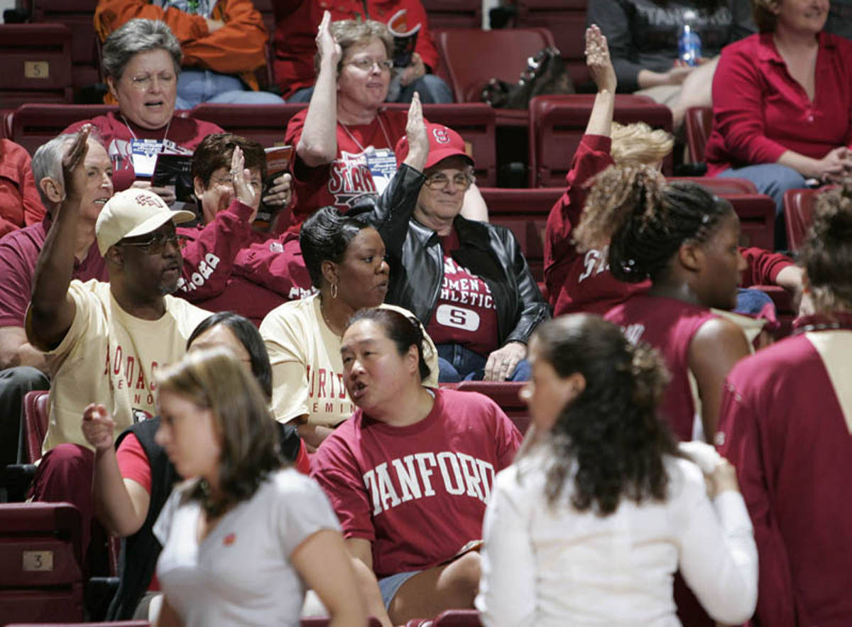 Even Stanford was doing the Seminole warchant.