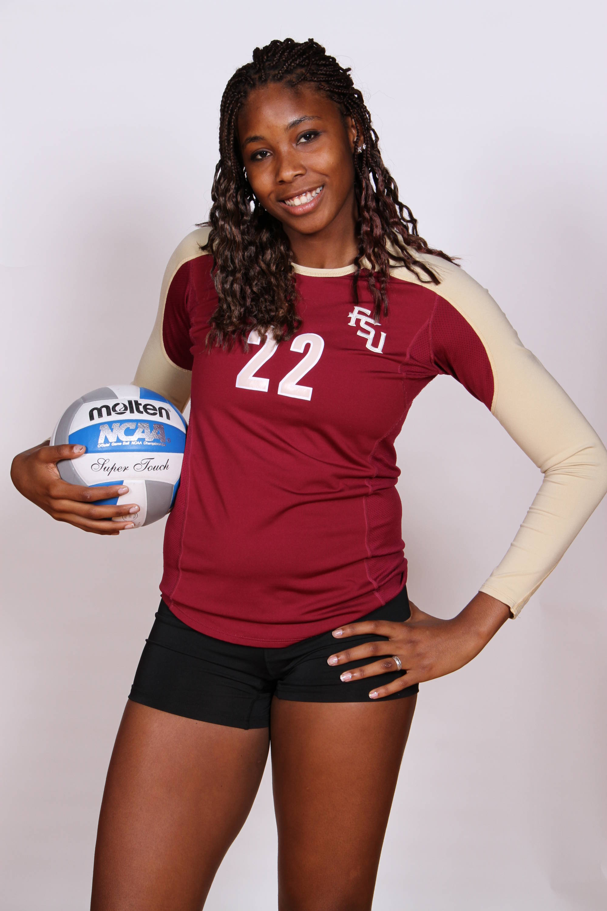 Sareea Freeman has a chance to have a special season at middle blocker