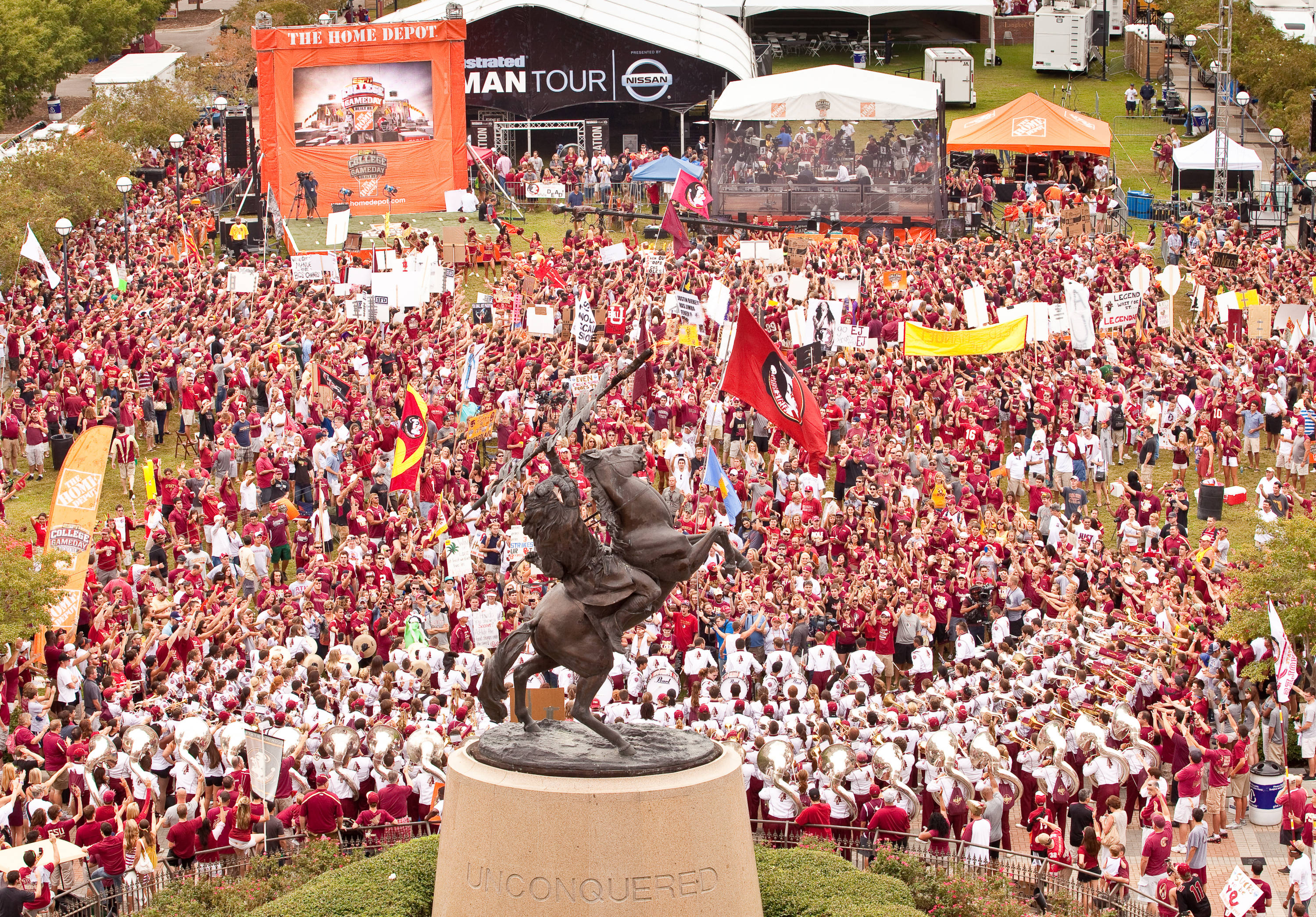 Gameday Crowd