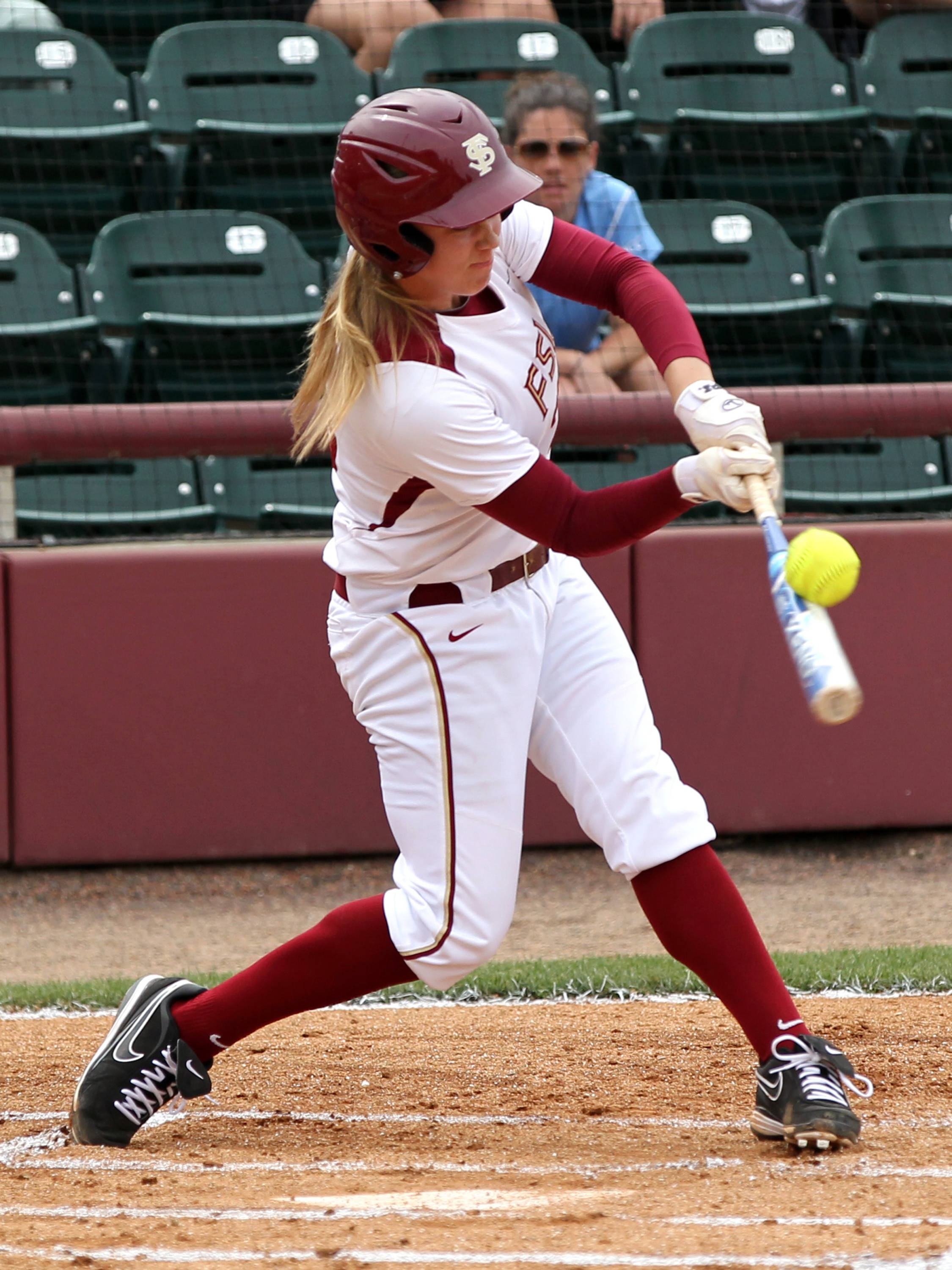 Kelly Hensley, FSU VS NC, ACC Championship Semifinals, Tallahassee, FL,  05/10/13 . (Photo by Steve Musco)