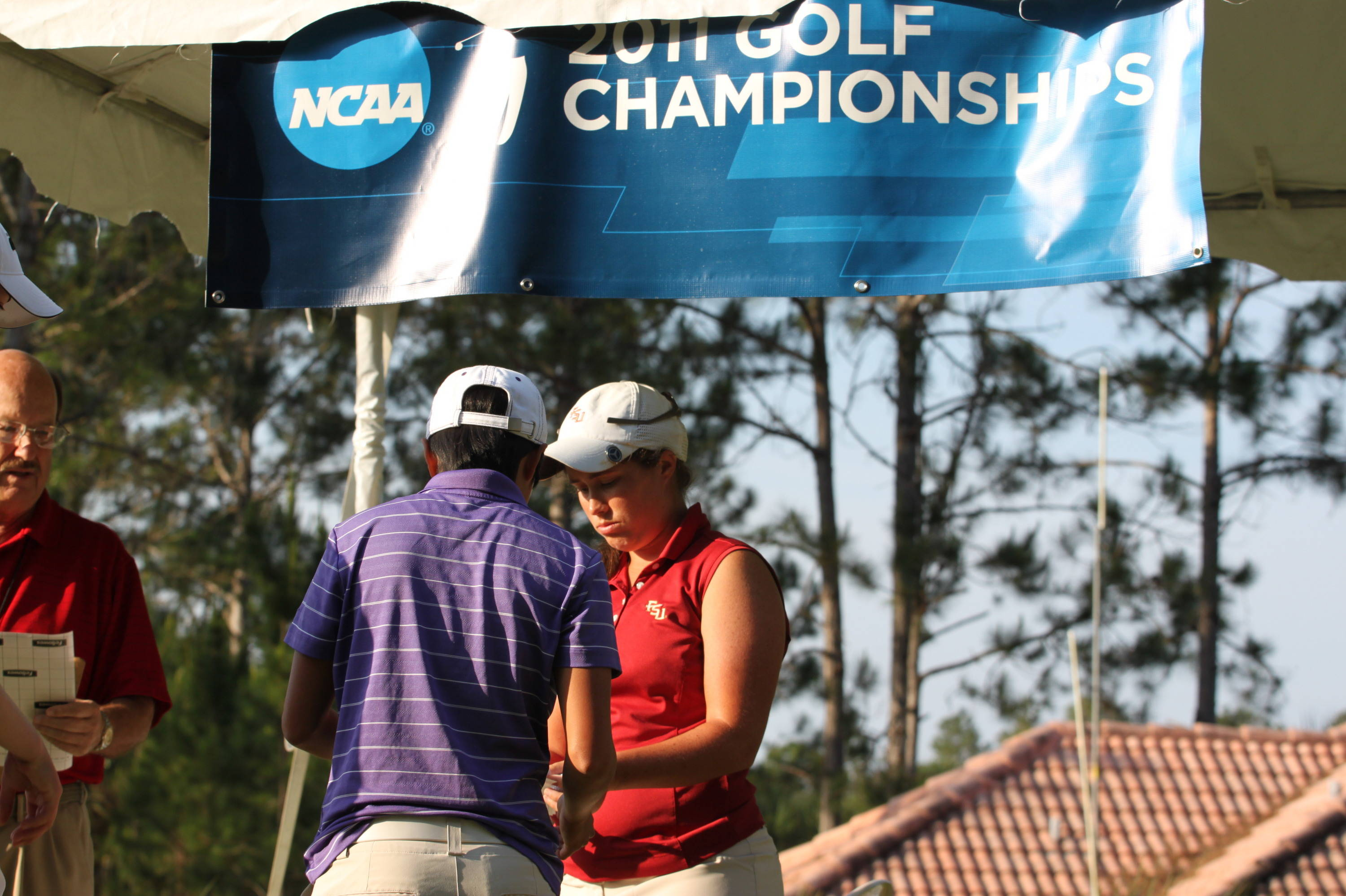 2011 NCAA Golf -- Florida State is playing with TCU and Colorado in the first round