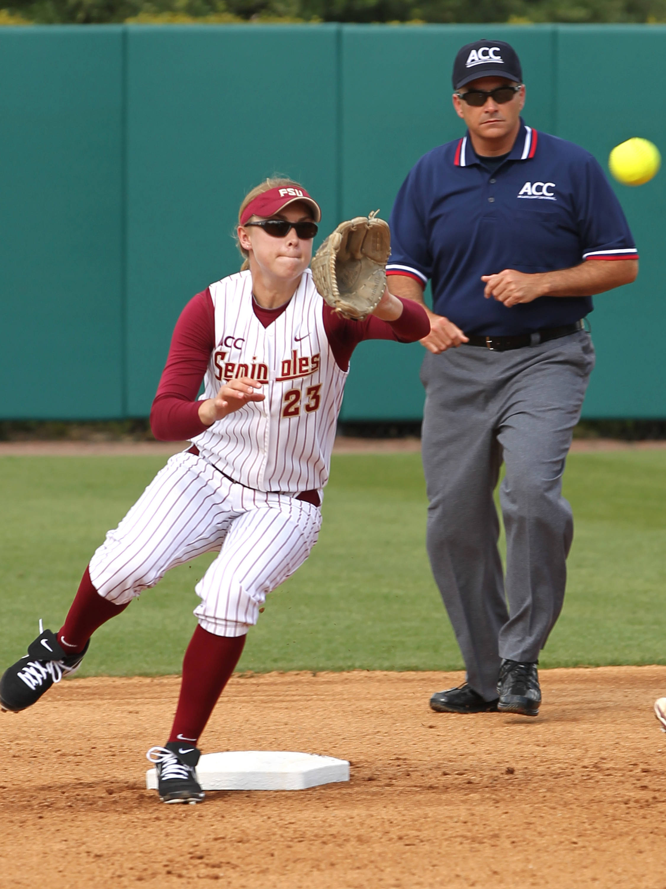 Kelly Hensley, FSU VS BC, ACC Championship Quarterfinals, Tallahassee, FL,  05/09/13 . (Photo by Steve Musco)