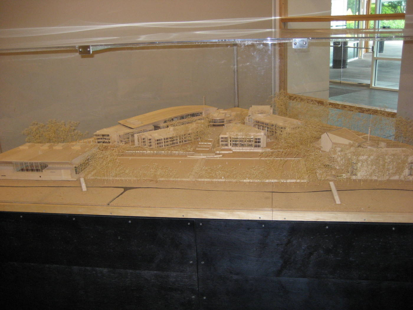 Model of the Nike Campus