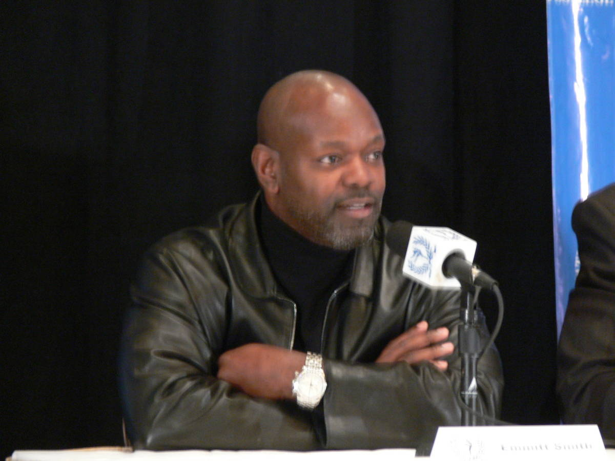 The NFL&acirc;?<sup>TM</sup>s all-time leading rusher and a two time All-American at Florida Emmitt Smith