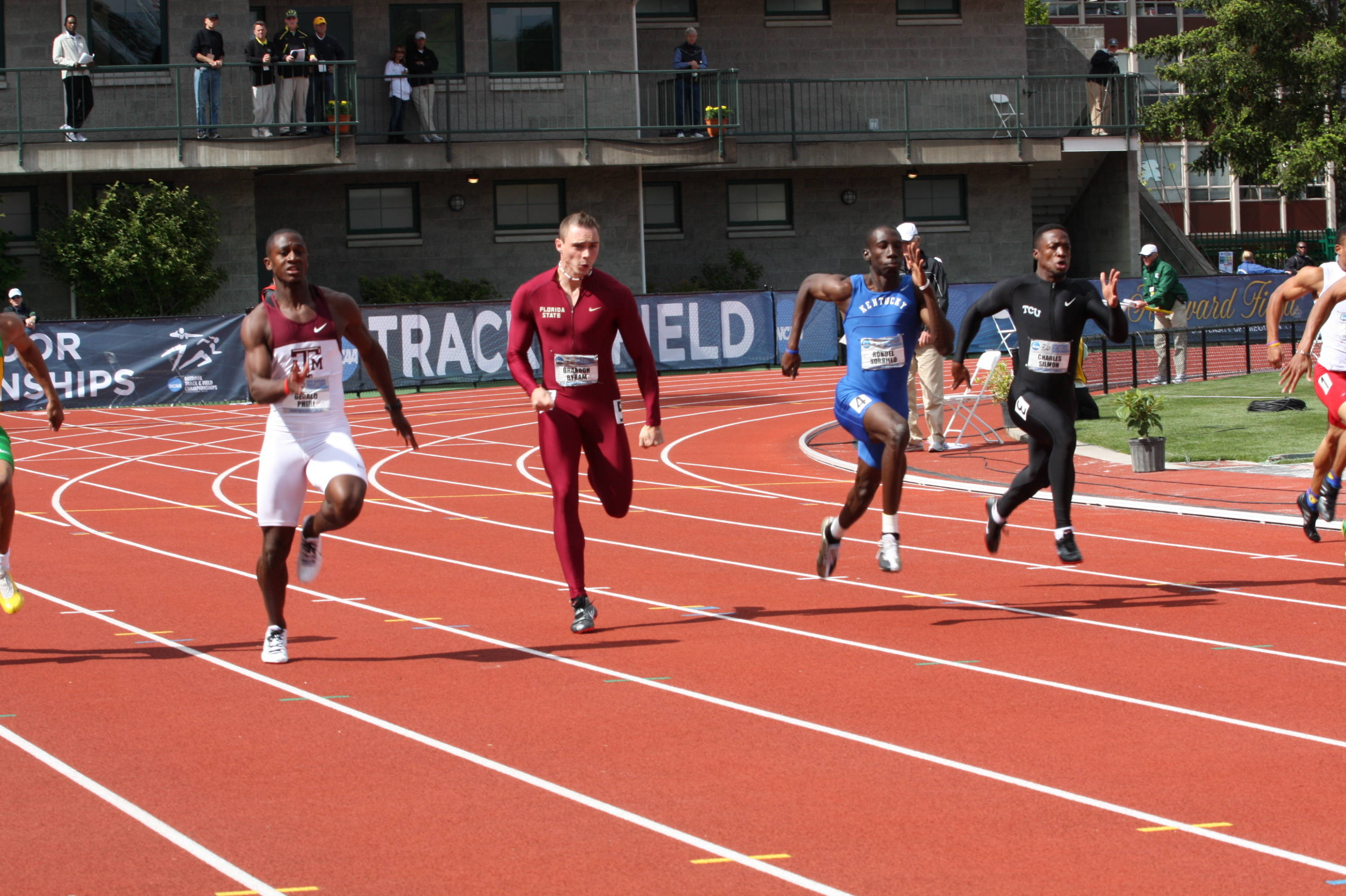 The second day of the 2010 NCAA Outdoor Championships.