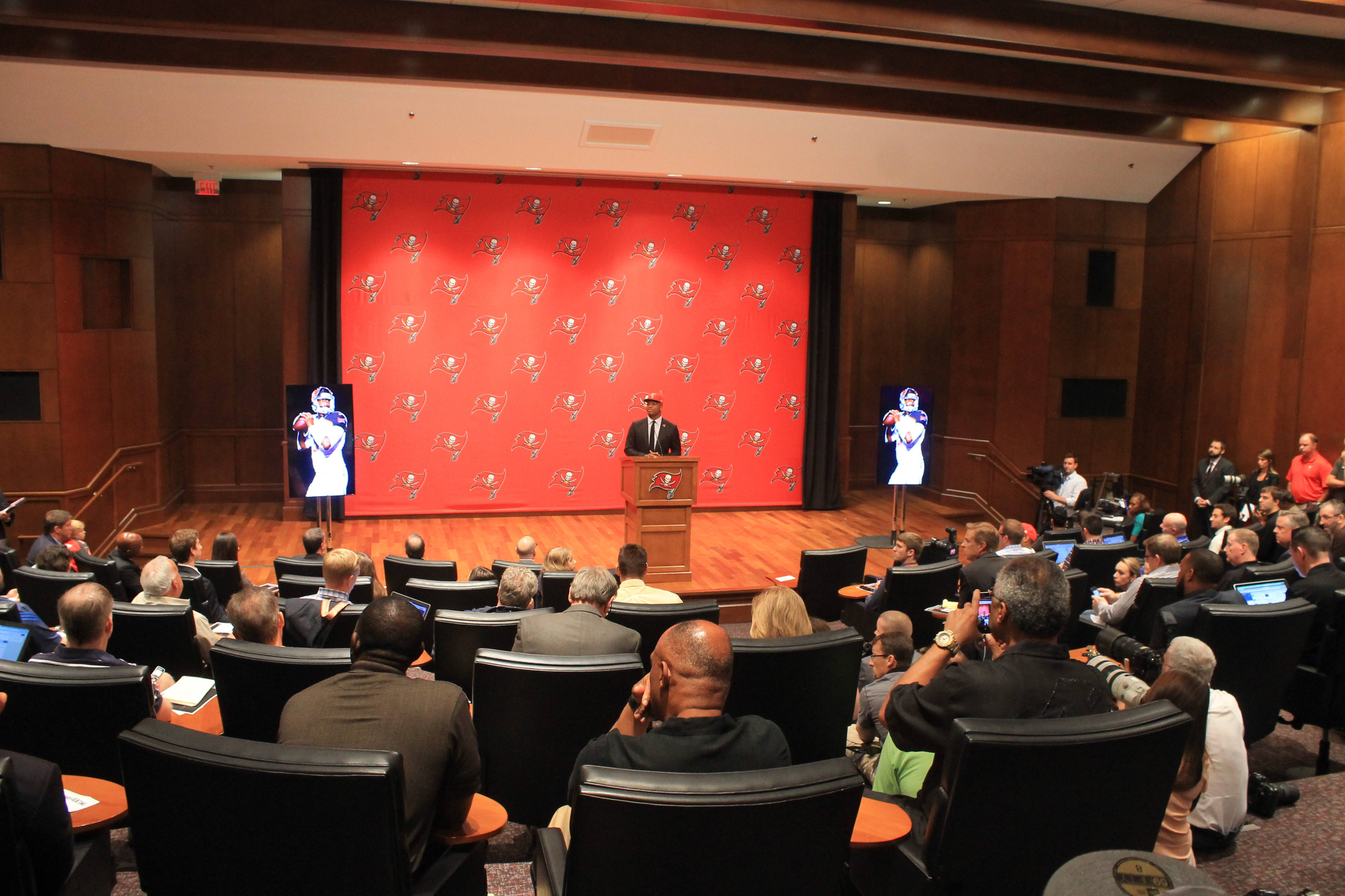 Press conference for Jameis Winston.