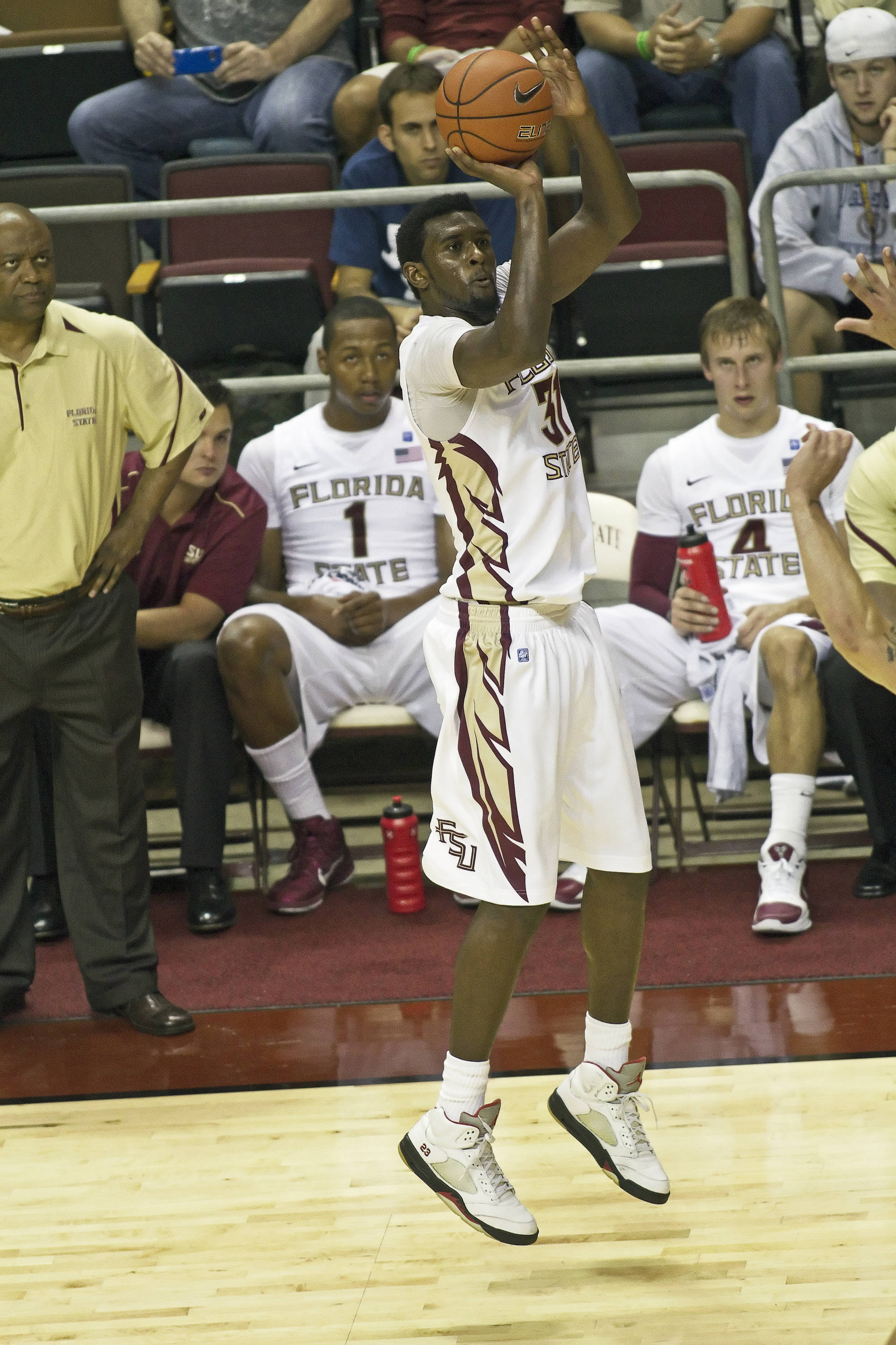 FSU vs Rollins - 11/03/2010 - Chris Singleton (31)
