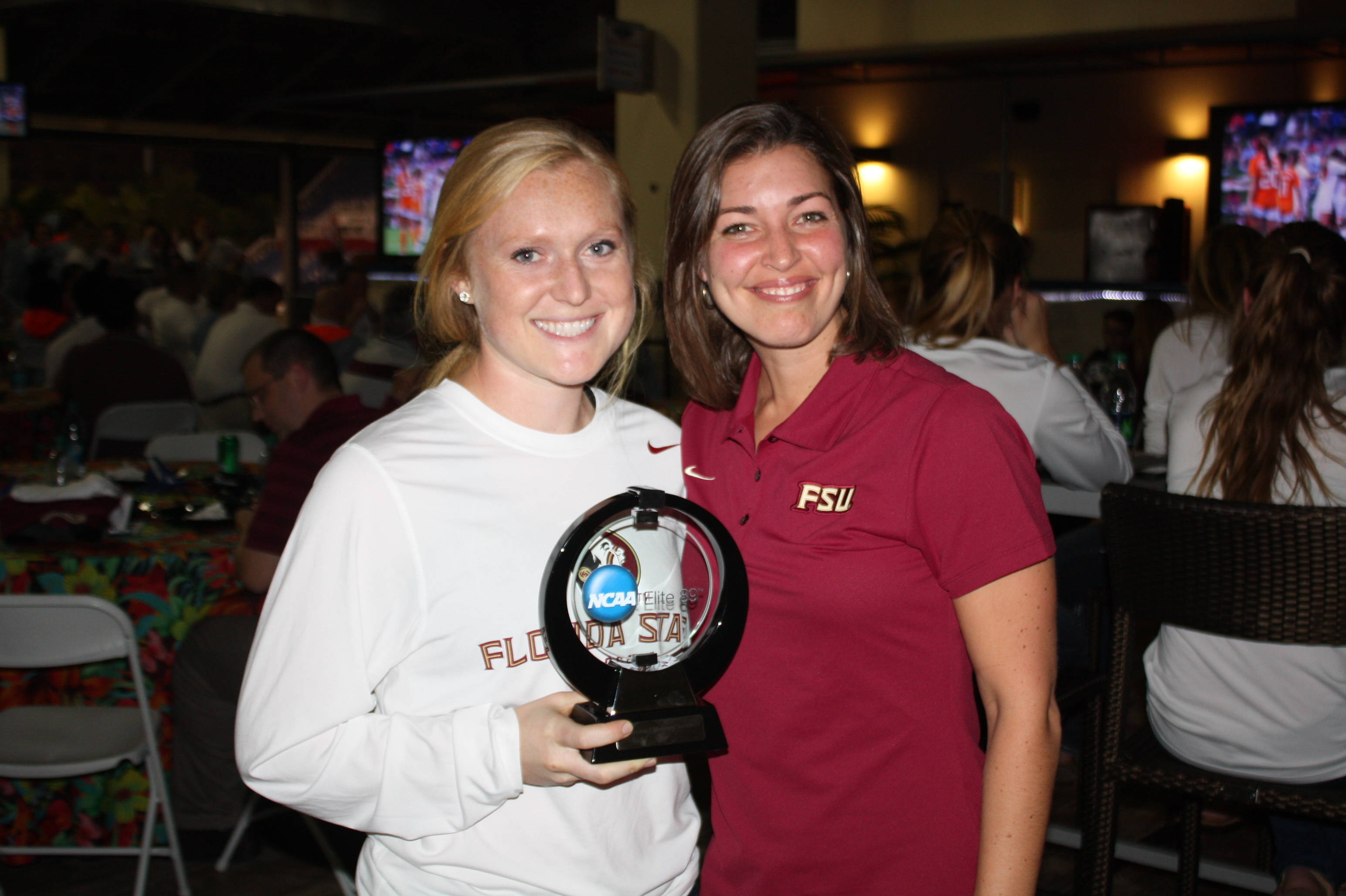 2014 Women's College Cup Media Day and Team Pictures