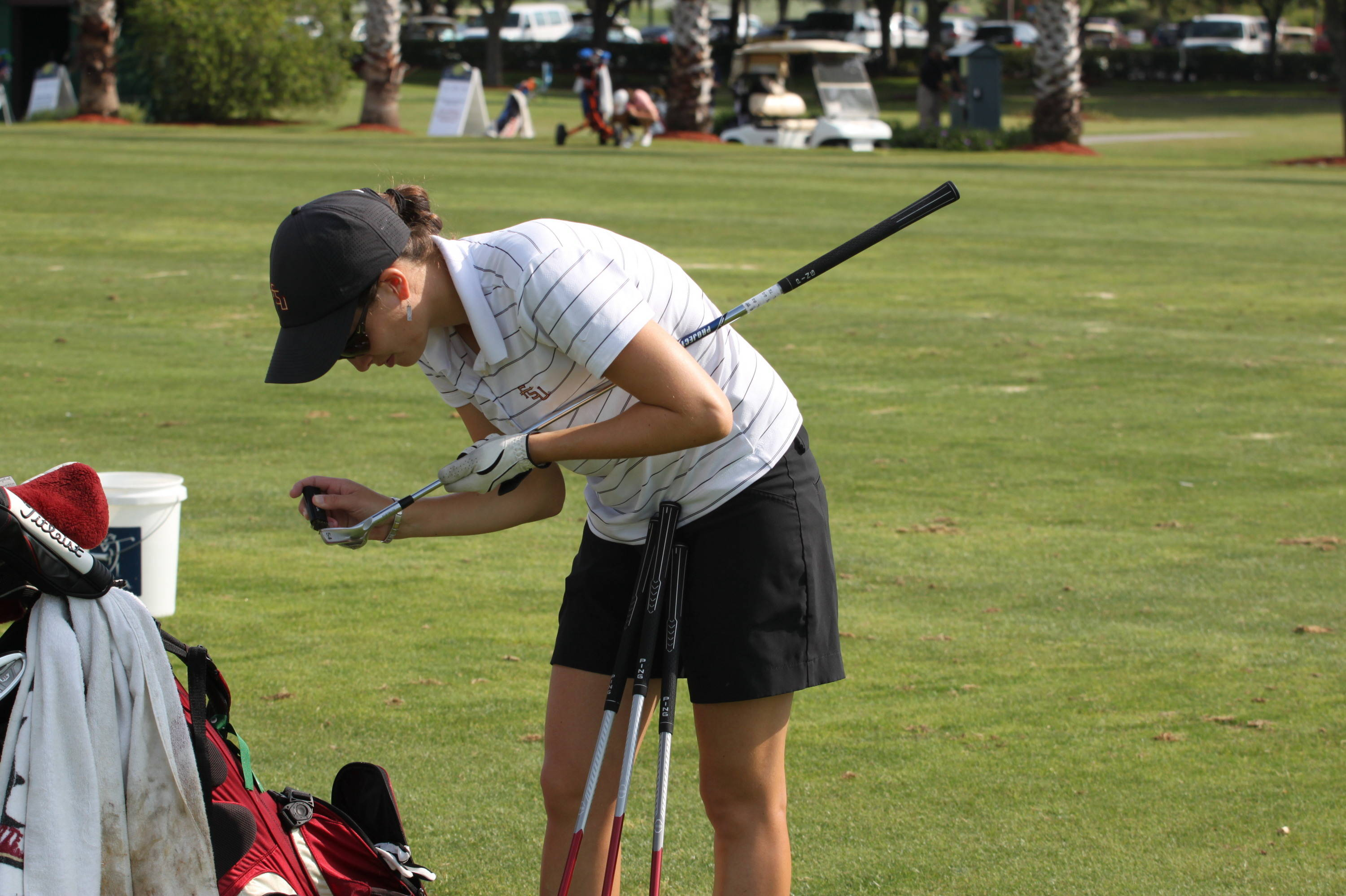 2011 NCAA Women's Golf - Senior Macarena Silva earned her degree in marketing from Florida State on April 30.