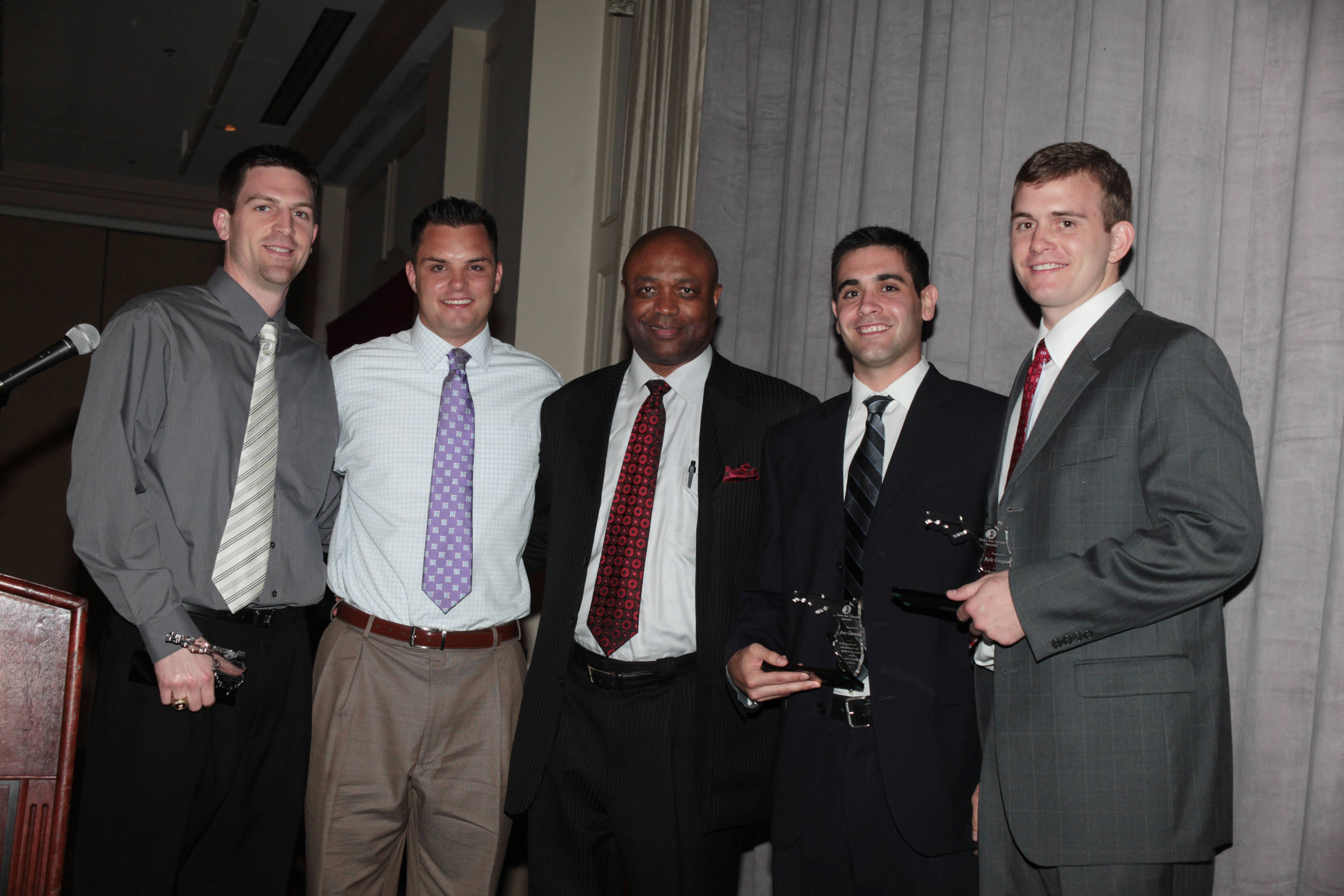 2011 Men's Basketball Banquet - Manager Awards