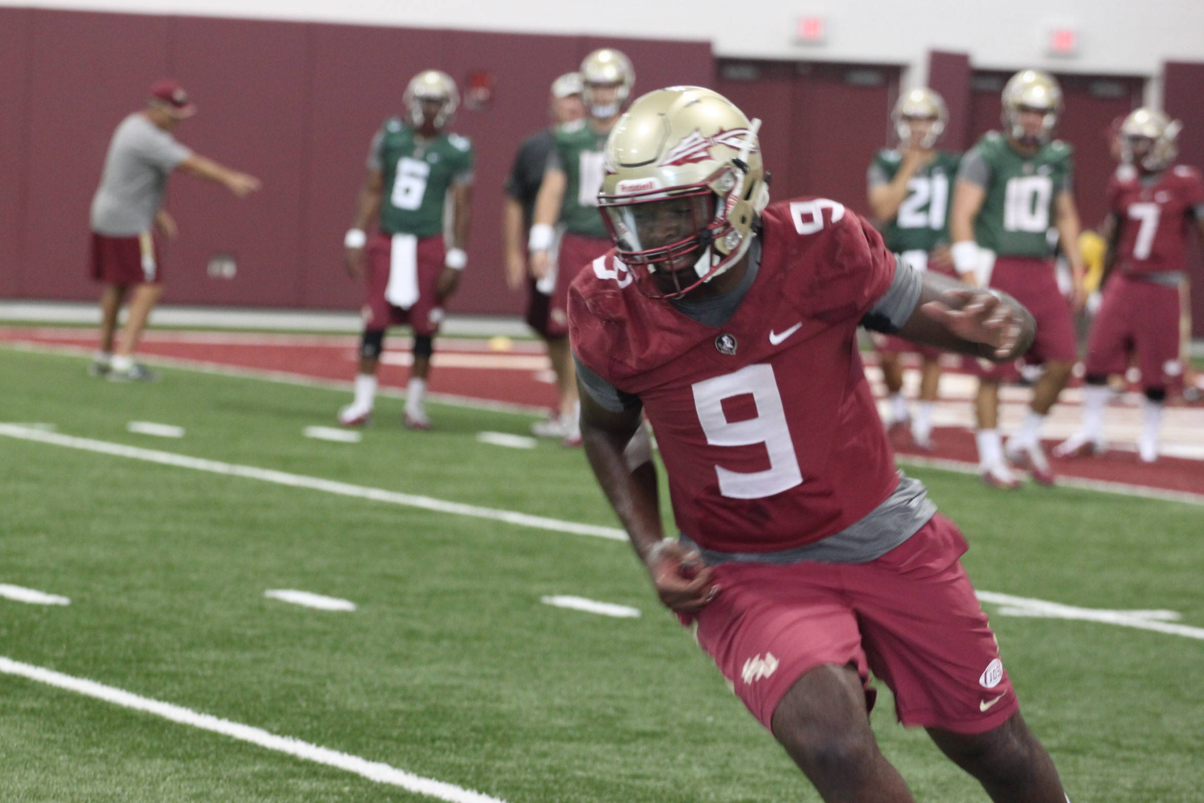 FSU Football Preseason Camp Practice Two