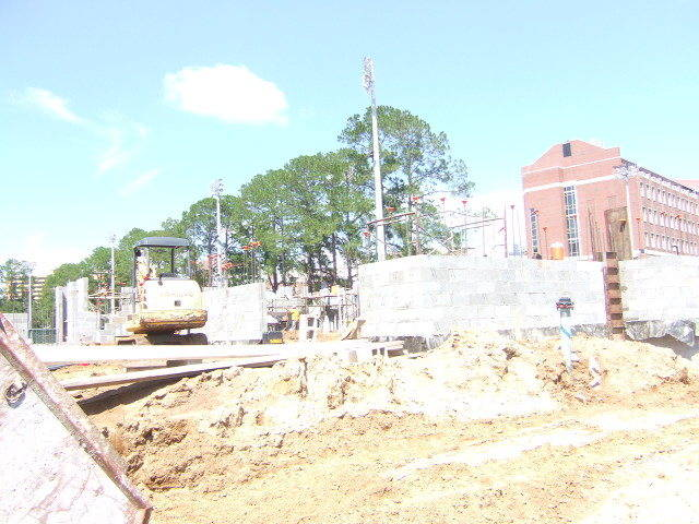 New track and field complex