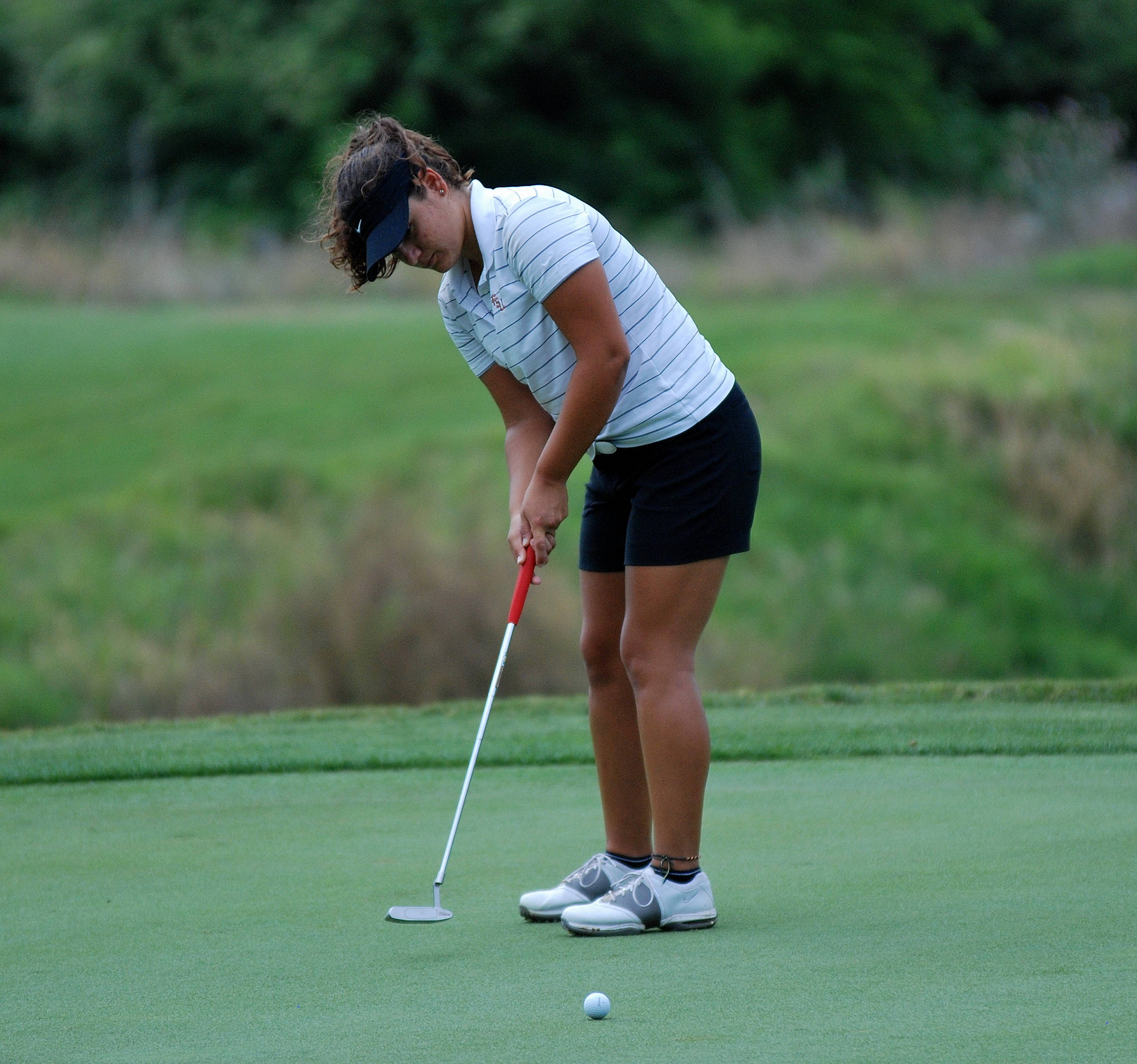 Jessica Negron 2011 NCAA Golf Competition Day 1