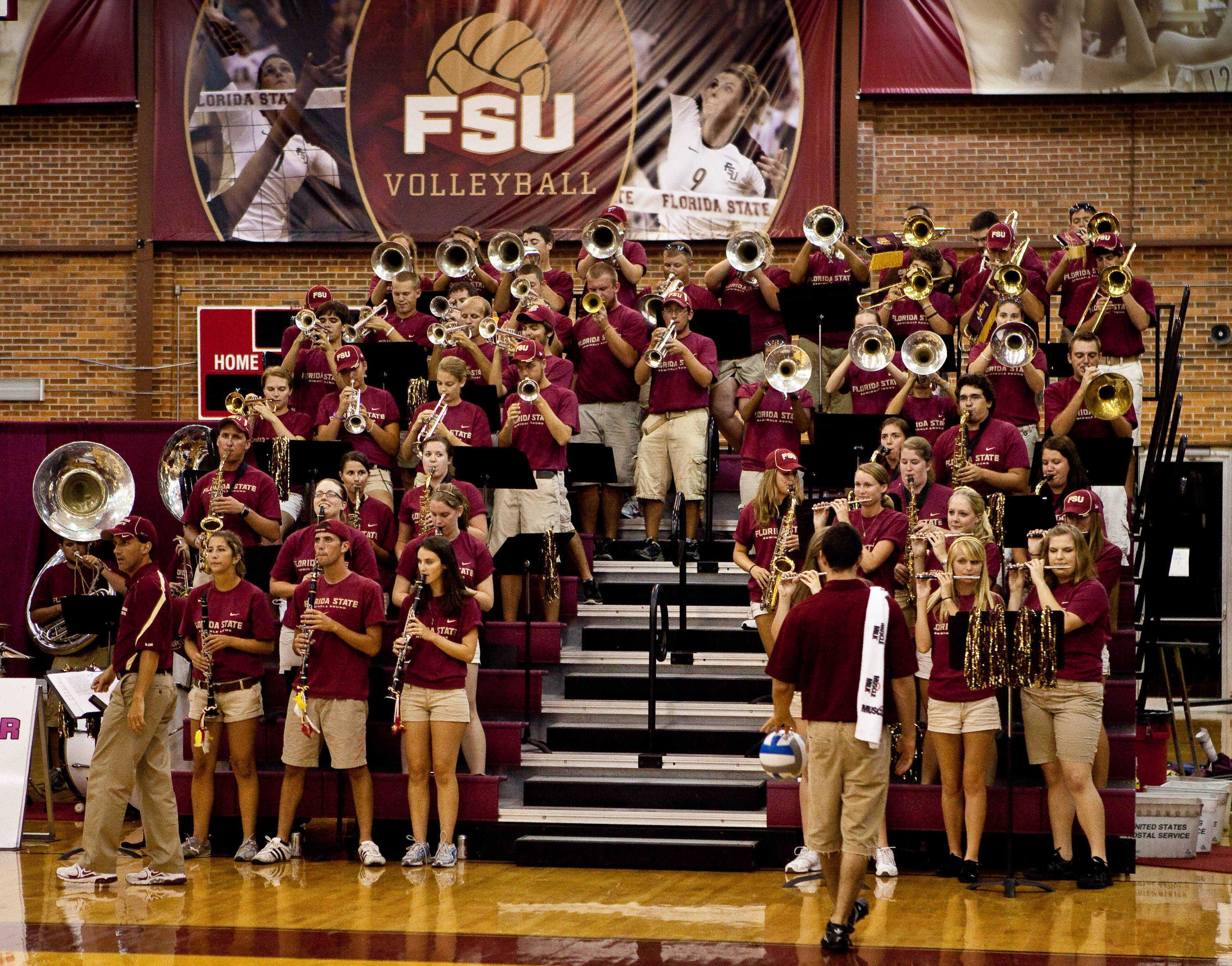 Seminole Sounds at work
