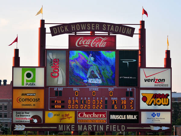 The Seminole baseball team sets an NCAA Tournament record scoring 37 runs to capture the 2009 Tallahassee Regional over Ohio State.