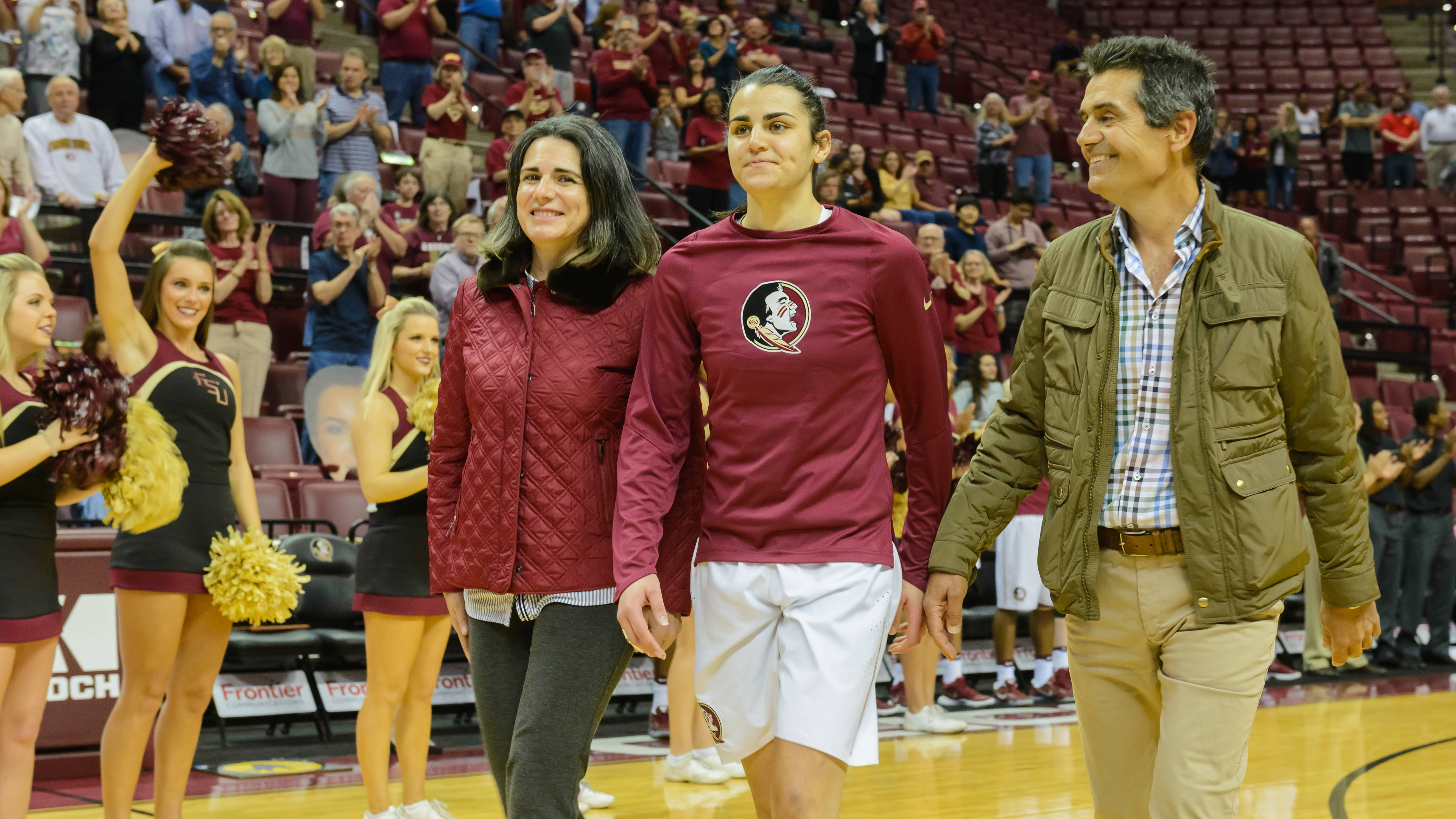 Florida State's all-time winningest senior class was honored on Senior Night.