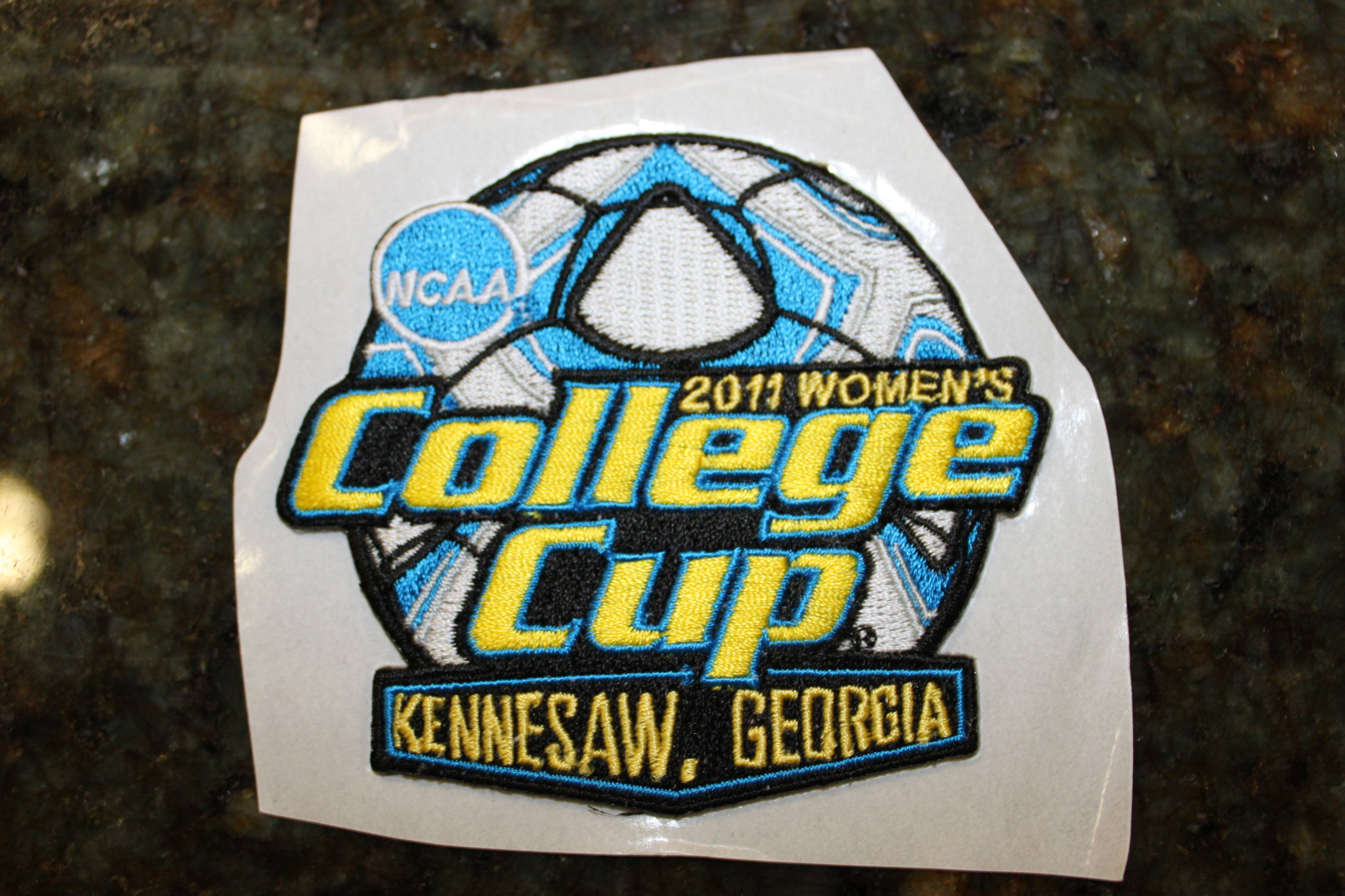The patch - 2011 College Cup Banquet
