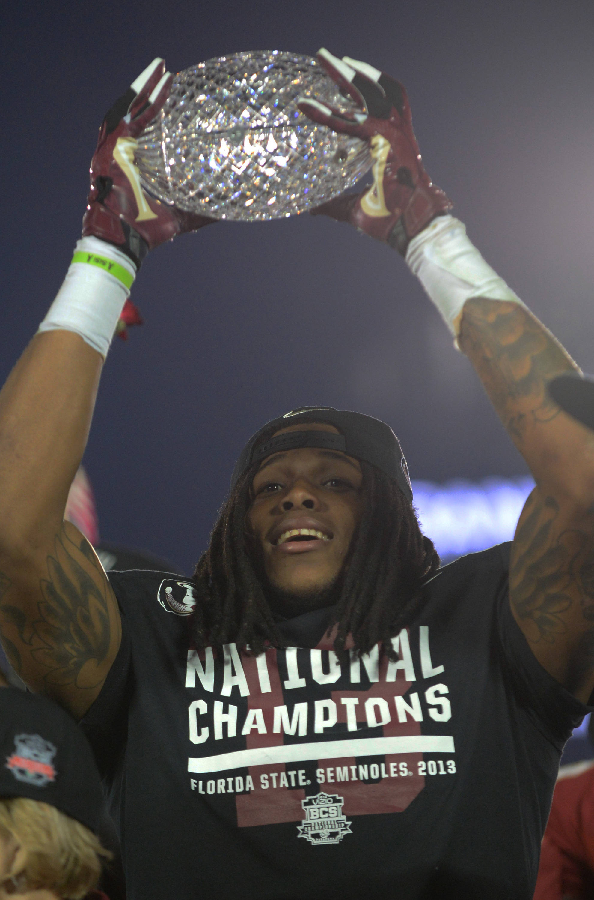 Kelvin Benjamin gets a turn with the crystal ball