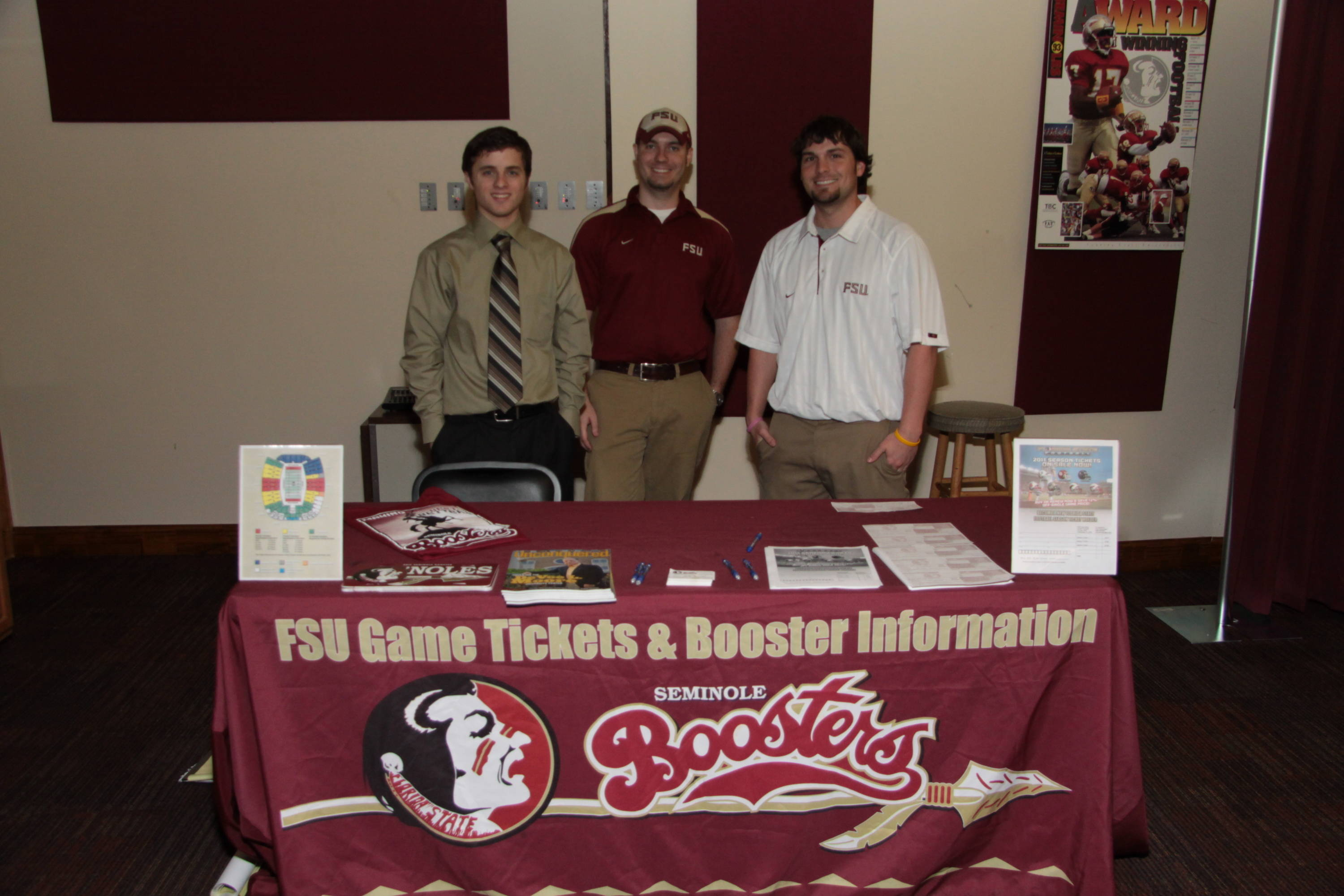 2011 Football War Party: The recruiting party held at the Antique Car Museum in Tallahassee on signing day.
