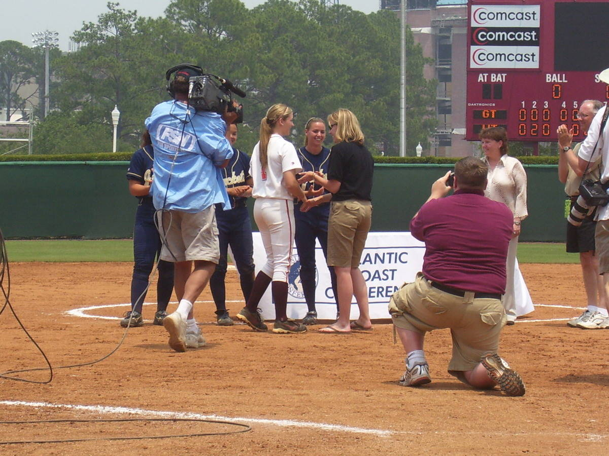 Presentation to MVP, Virginia Tech's Angela Tincher.