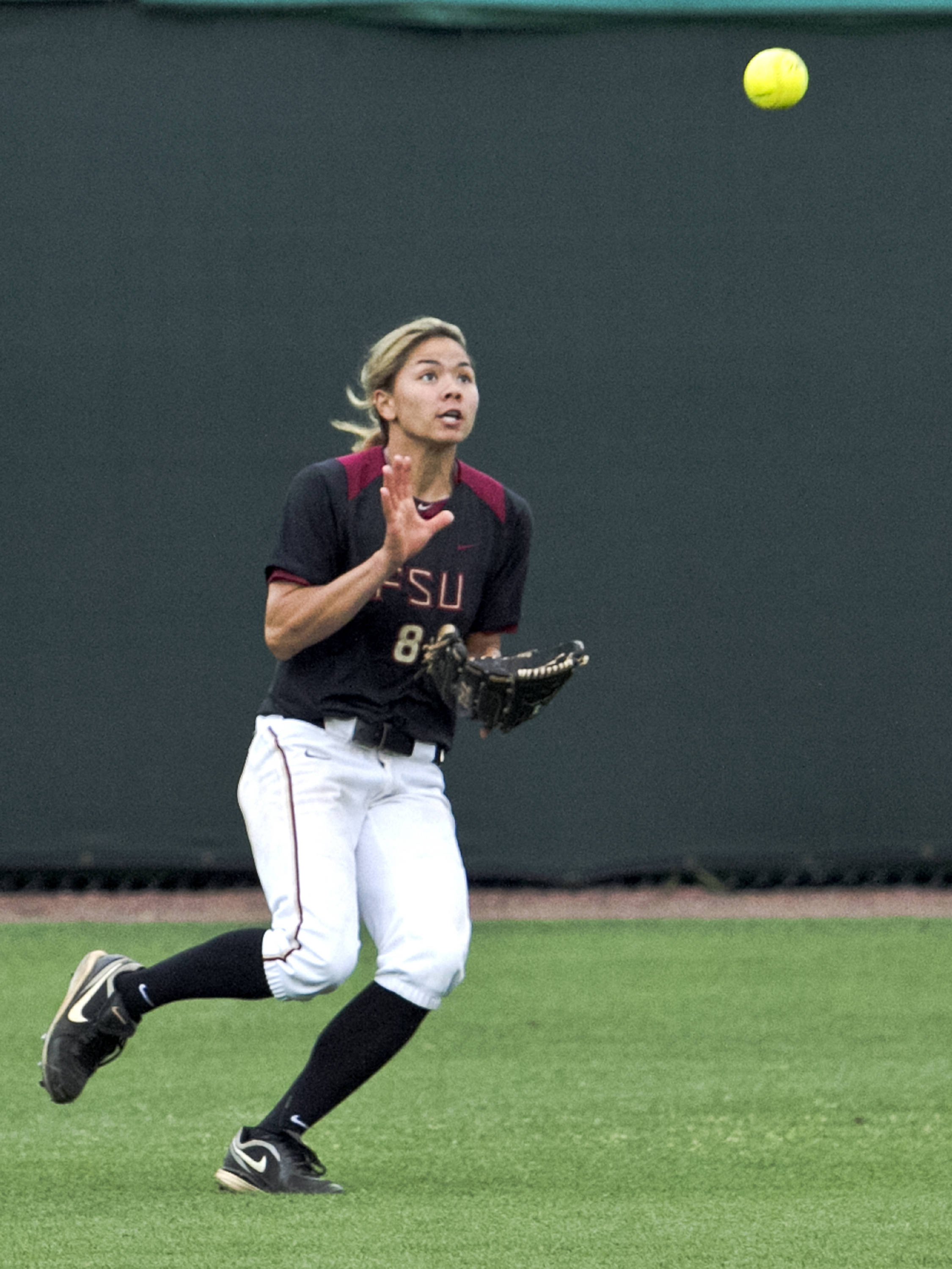 Courtney Senas, FSU Softball vs FLA  04/02/2012