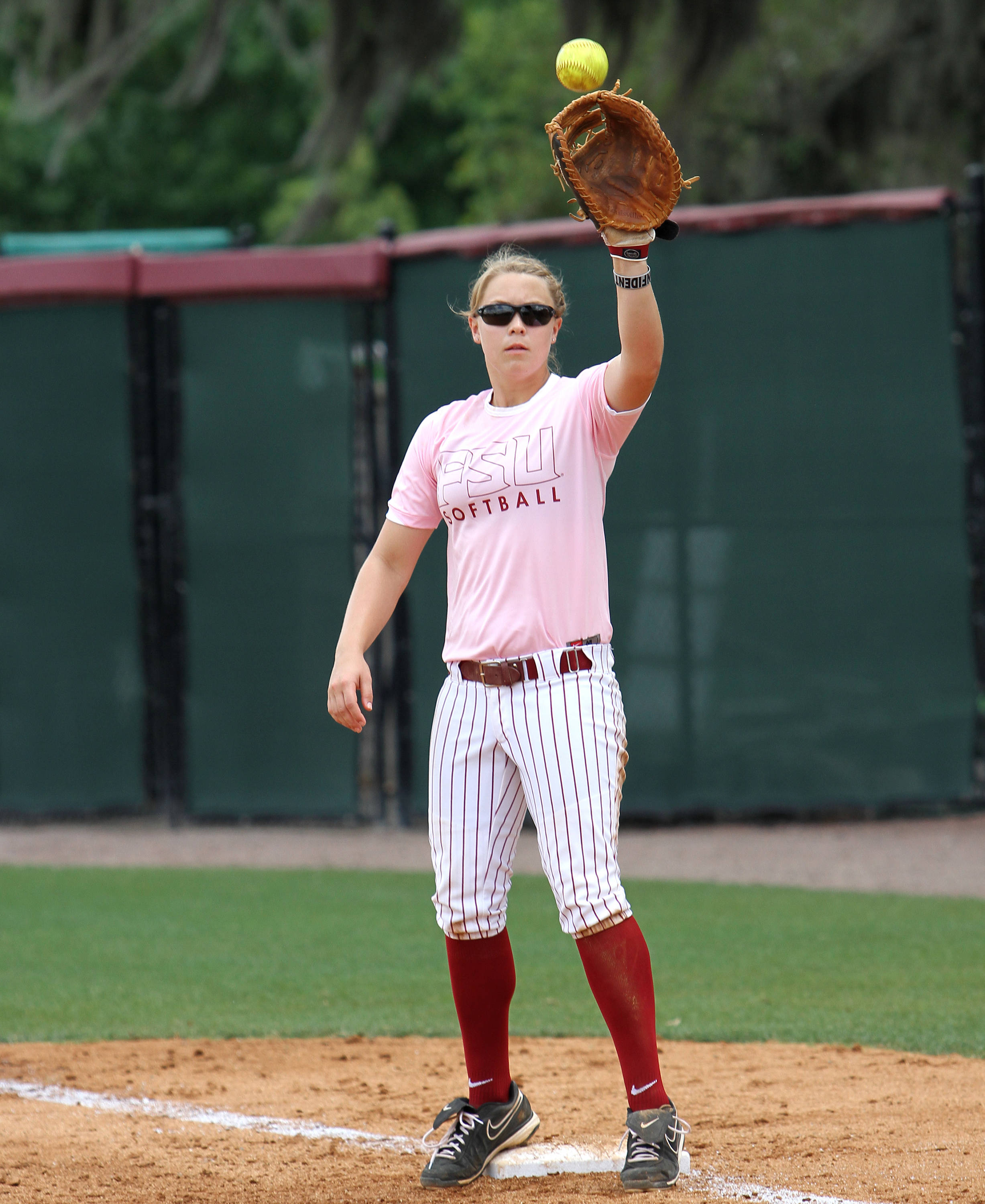 Kelly Hensley, FSU vs GT,  04/15/2012