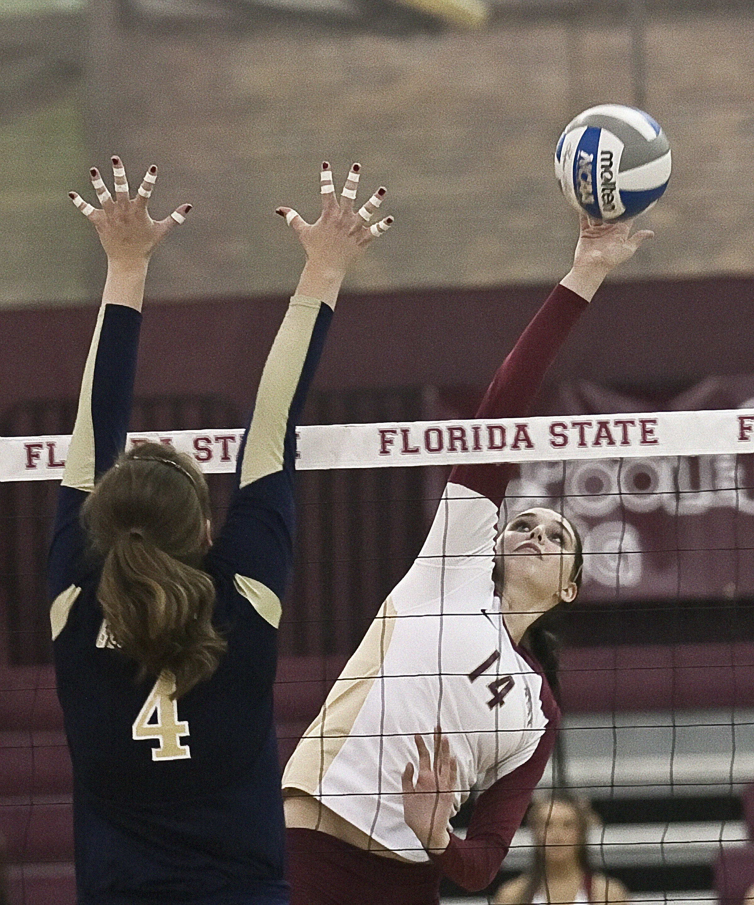 Ashley Neff (14) FSU vs GT 10/14/1111