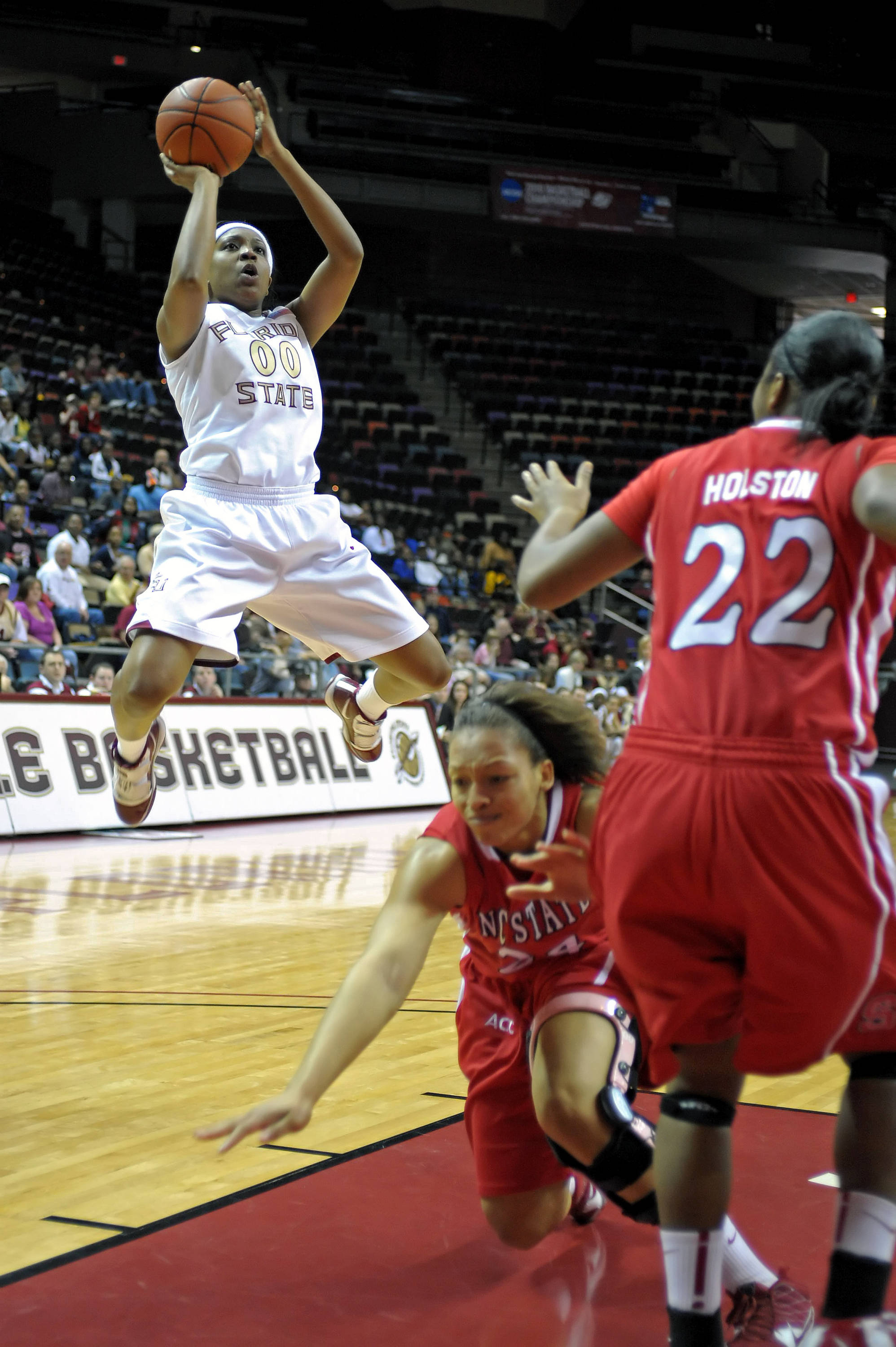 August 19 ... She's got hops! Chasity Clayton burst onto the scene as a freshman a year ago and you can certainly expect to see a whole lot more of this in 2010-11.