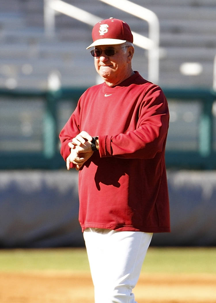 Mike Martin knows it's time for the start of the 2011 baseball season.