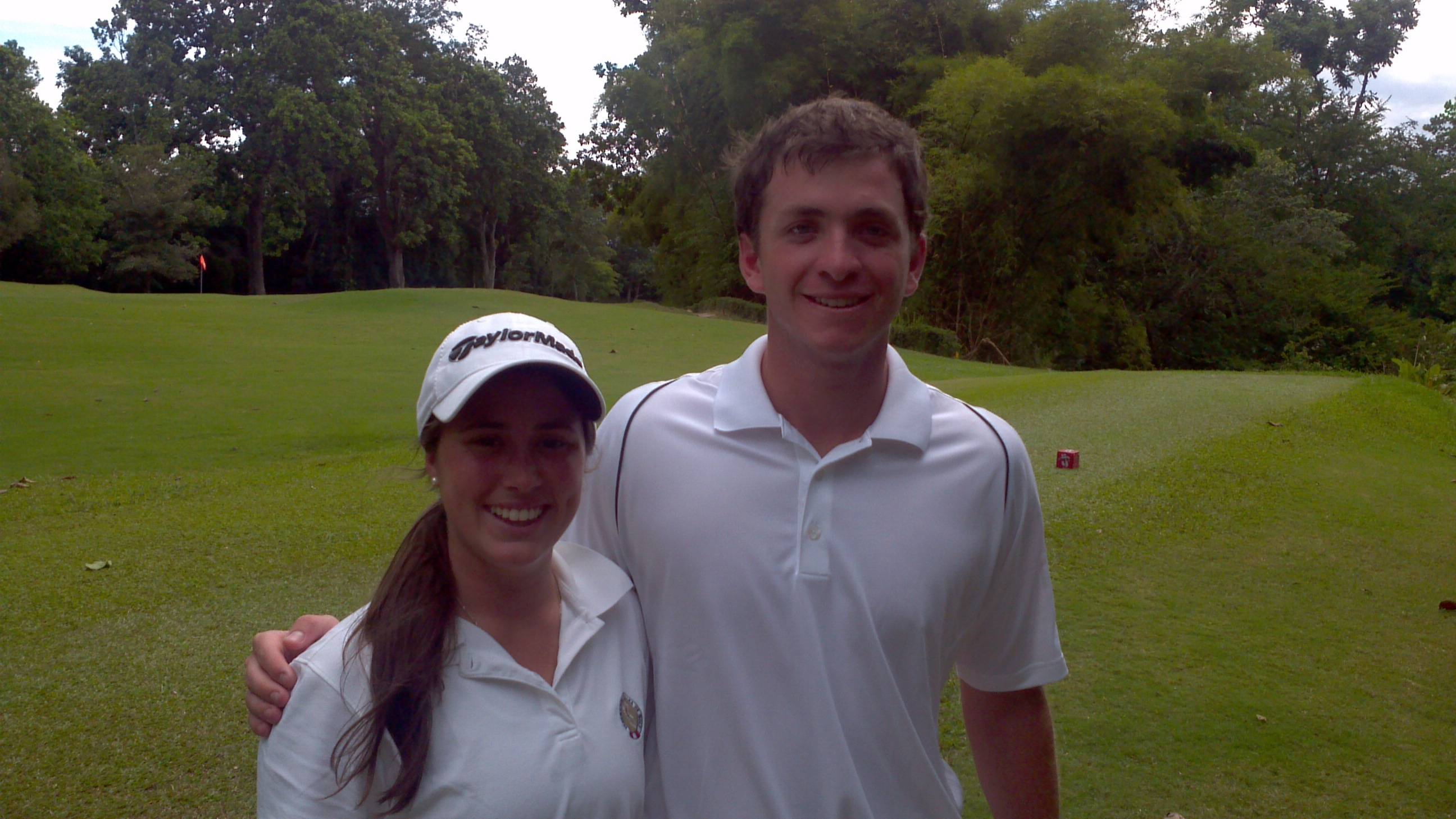 Maria Salinas and Joaquin Lolas at 2011 South American AM