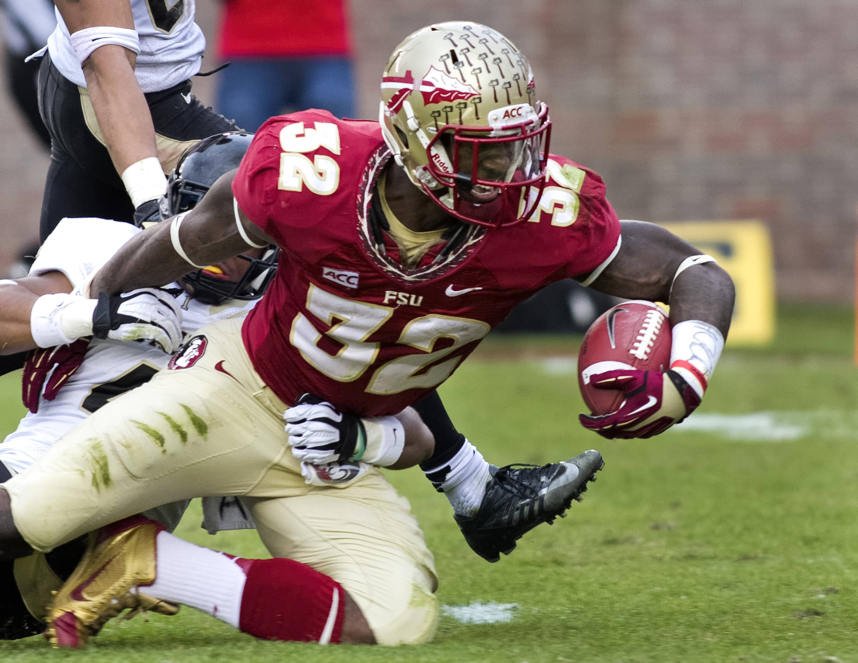 James Wilder, Jr. (32), FSU vs Idaho, 11-23-13,  (Photo by Steve Musco)
