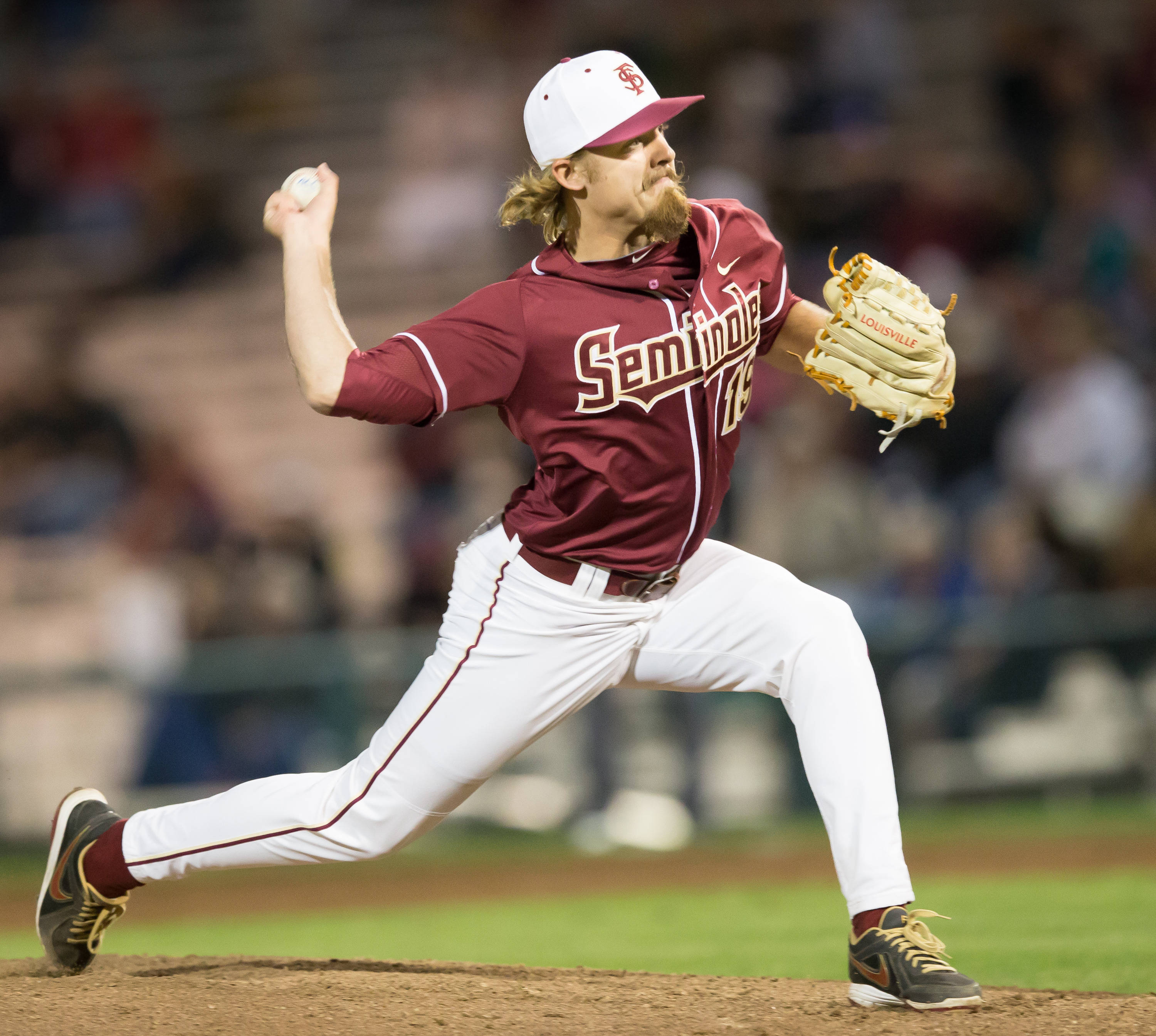 Gage Smith (19) was perfect in 1.2 innings of relief.