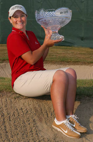 Karen Stupples, Weetabix British Open Champion 2004 at Sunningdale.