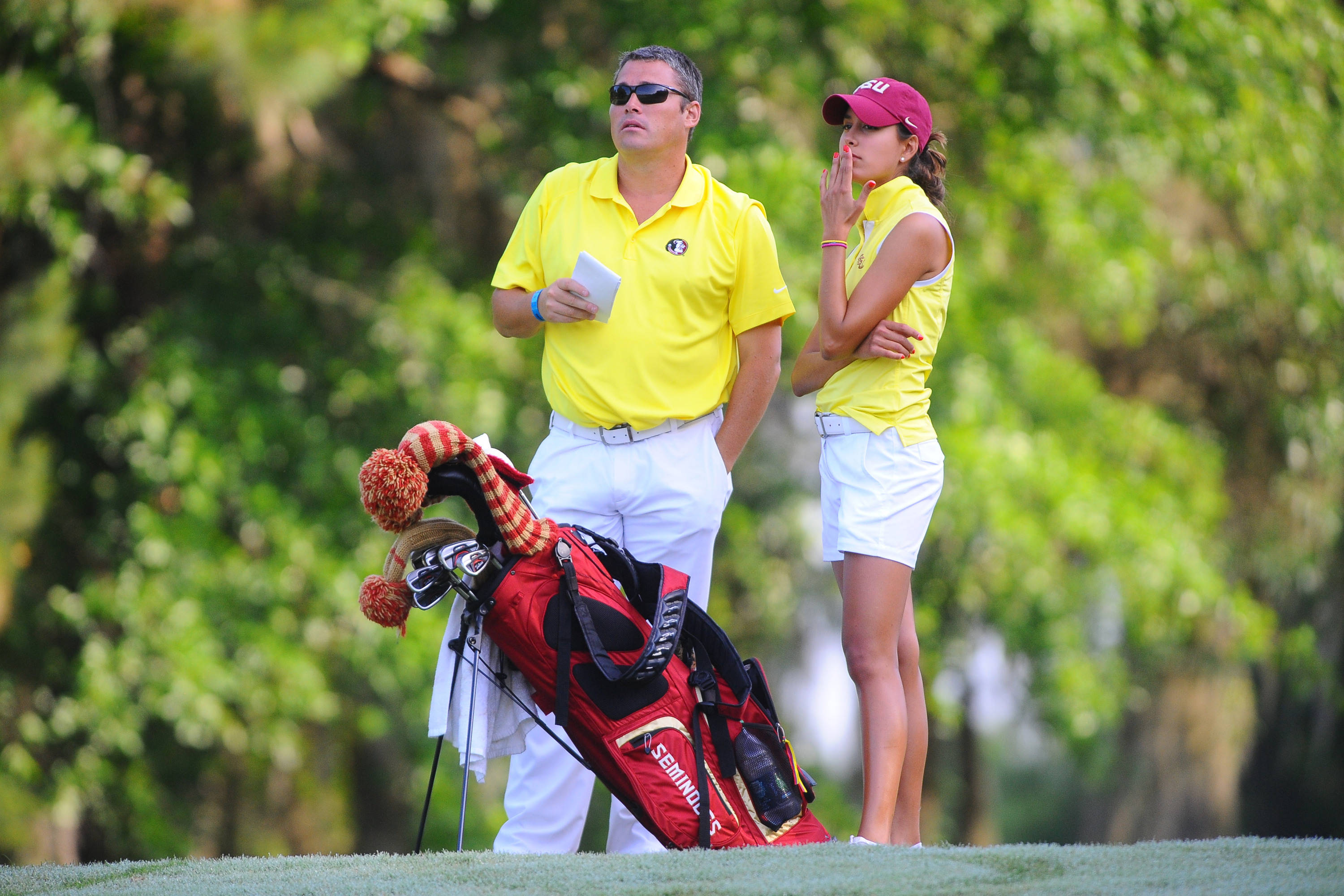 Robert Duck and Anna Sophia Bohmer at 2014 NCAA Division I East Regional Championship