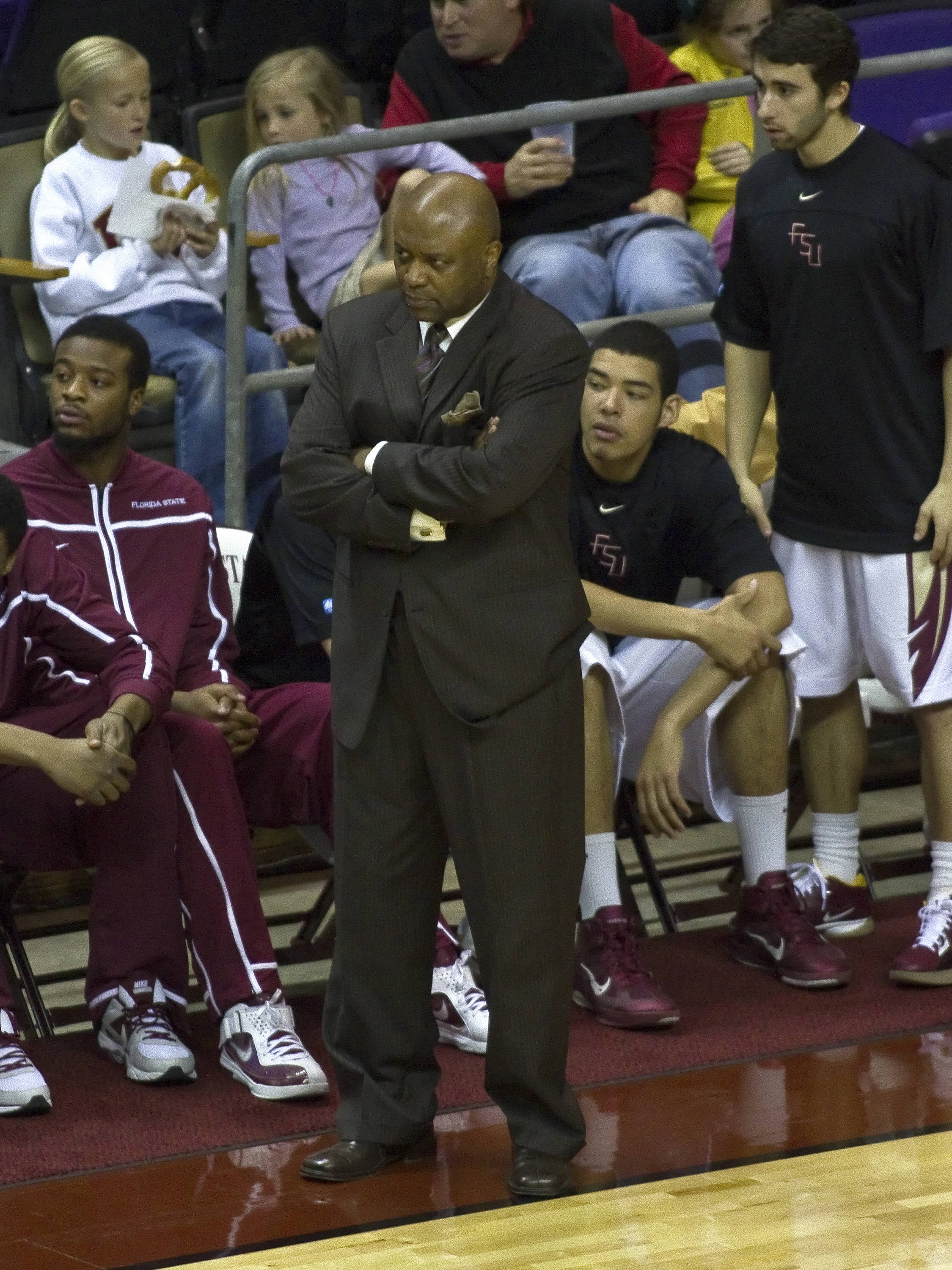Head Coach Leonard Hamilton, FSU vs Loyola-Mary., 12/18/2011