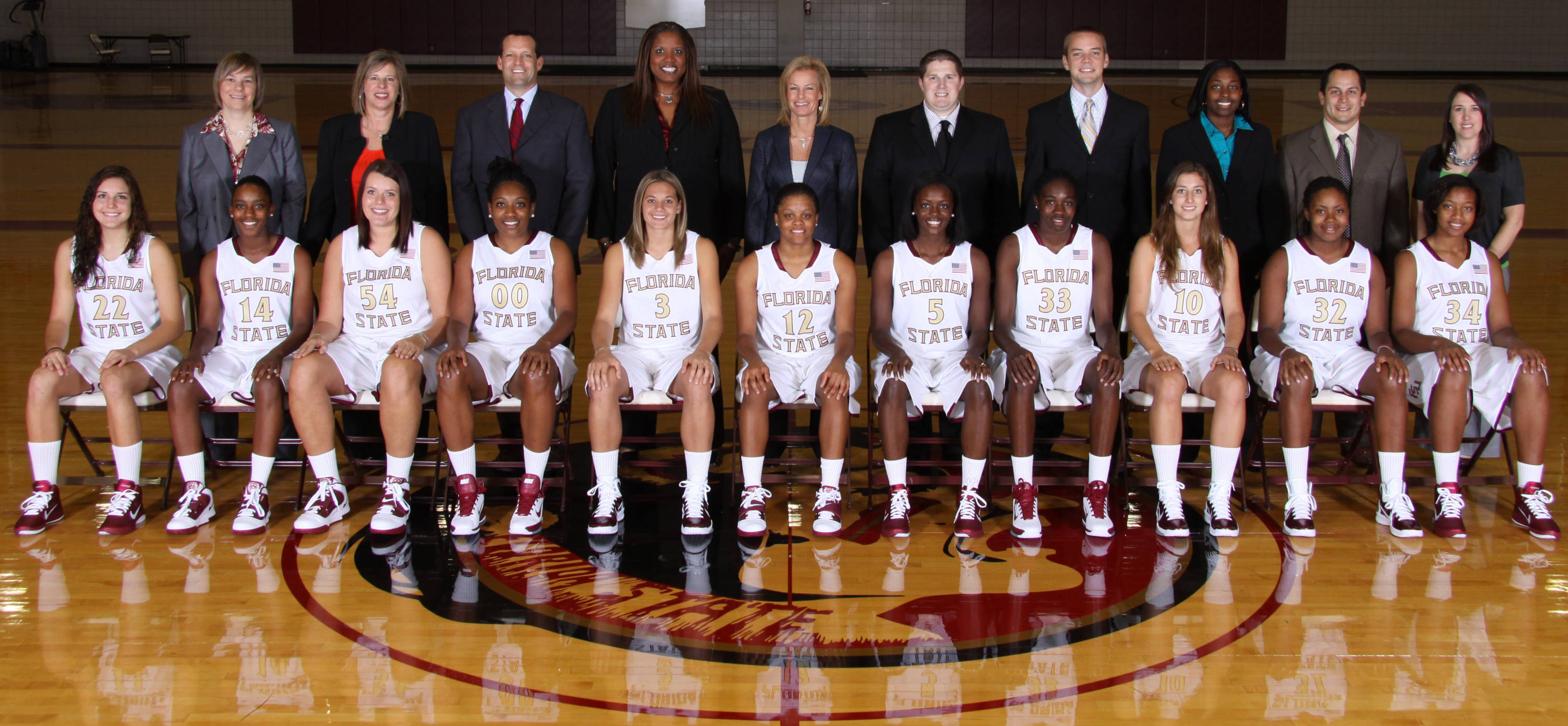 Sept. 22 ... Now presenting, the 2010-11 Florida State women's basketball team photo!