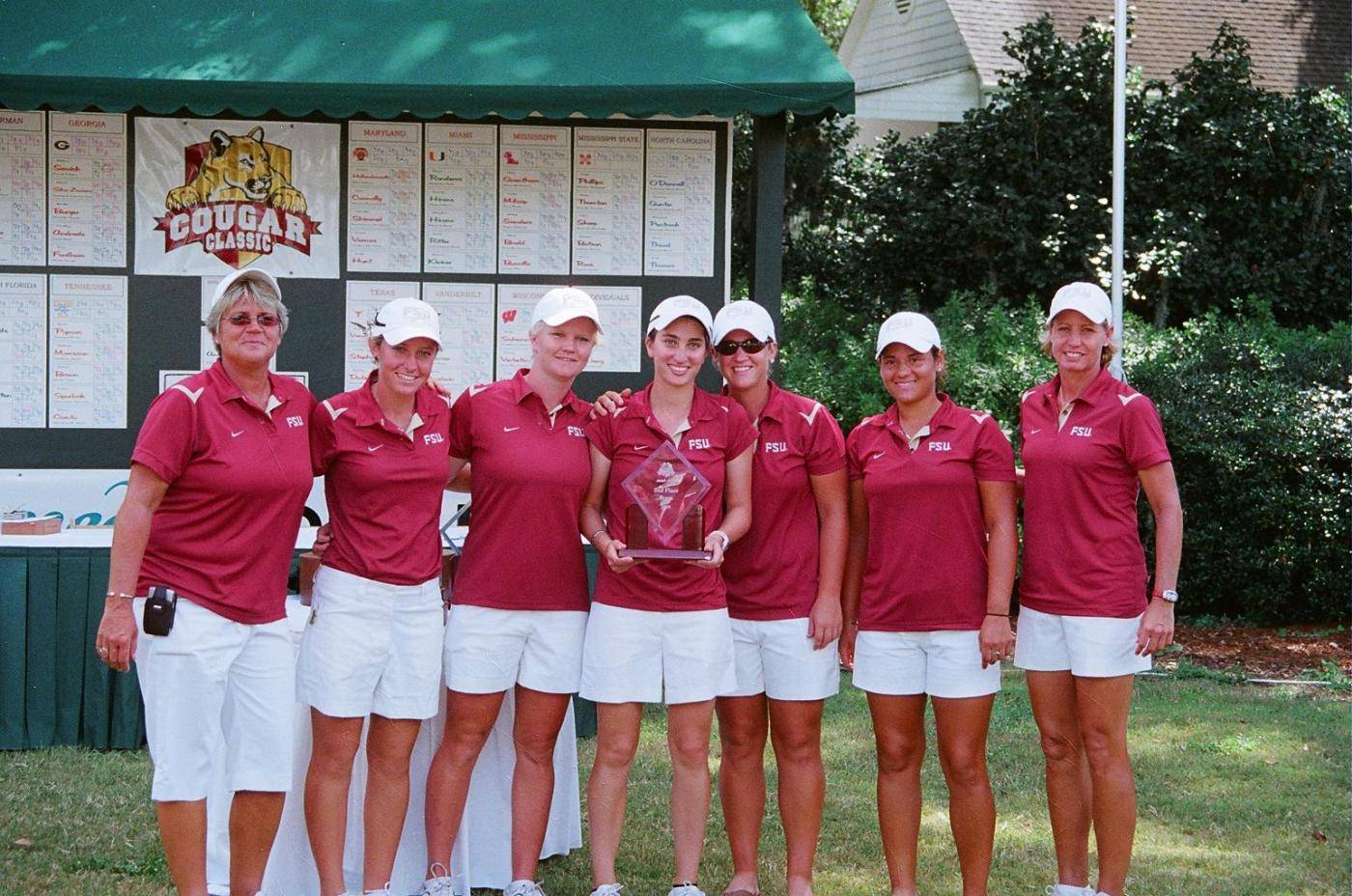 Women's Golf at the 2009 Cougar Classic.