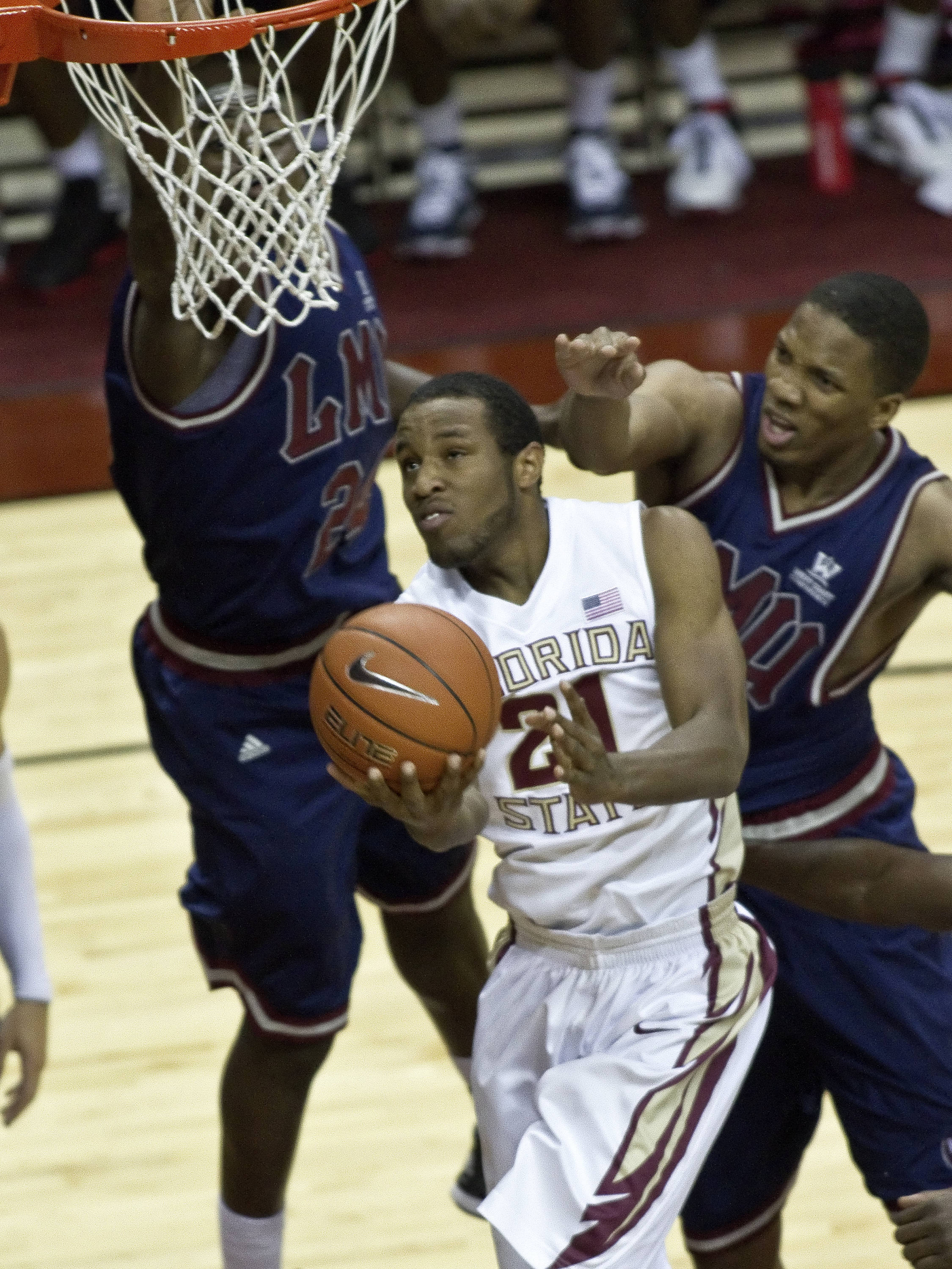 Michael Snaer (21), FSU vs Loyola-Mary., 12/18/2011